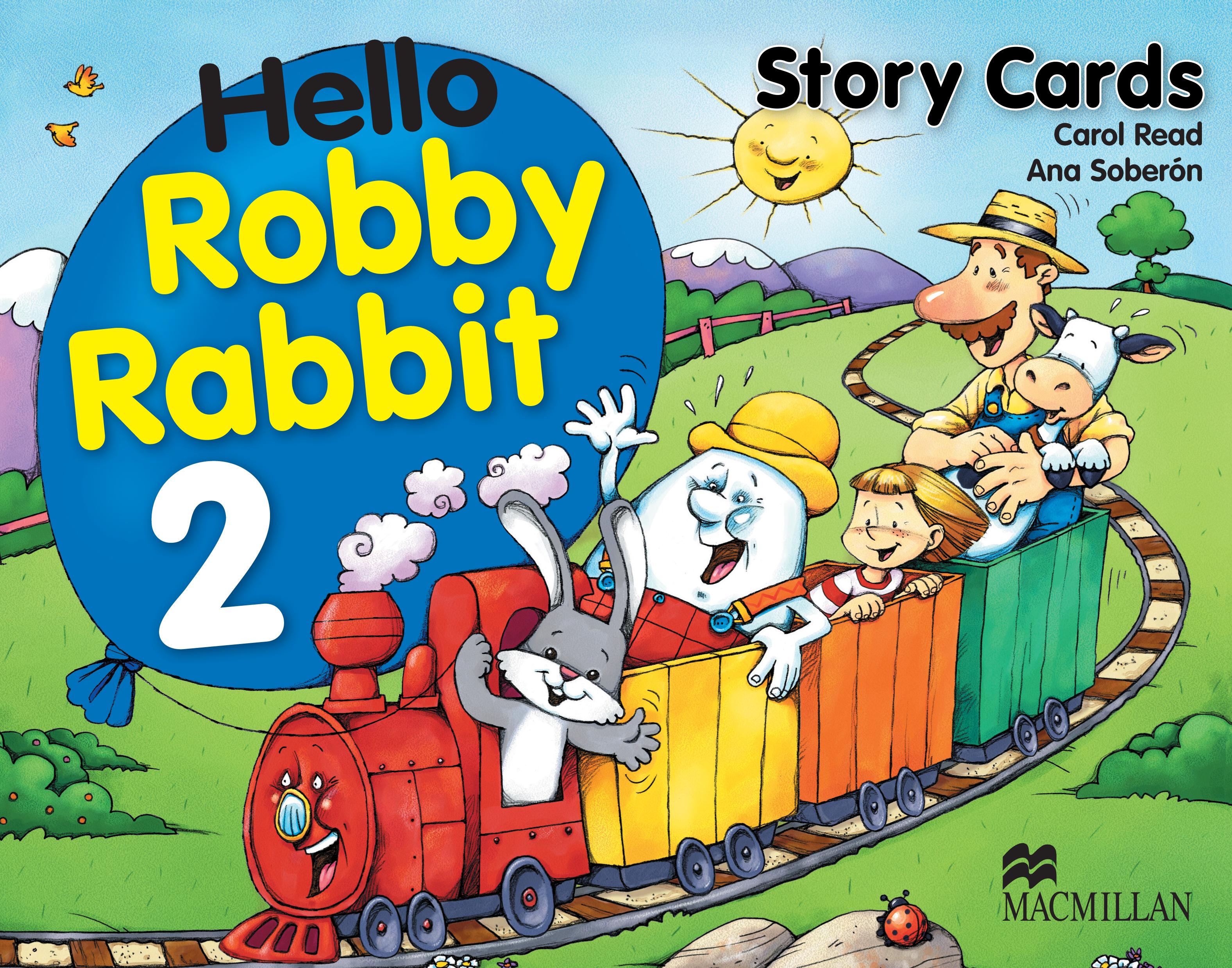 Hello Robby Rabbit 2 Story Cards