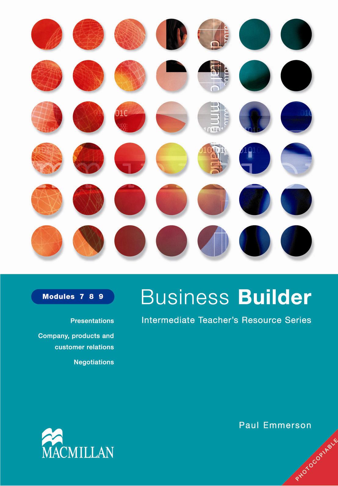 Business Builder Modules 7 - 9