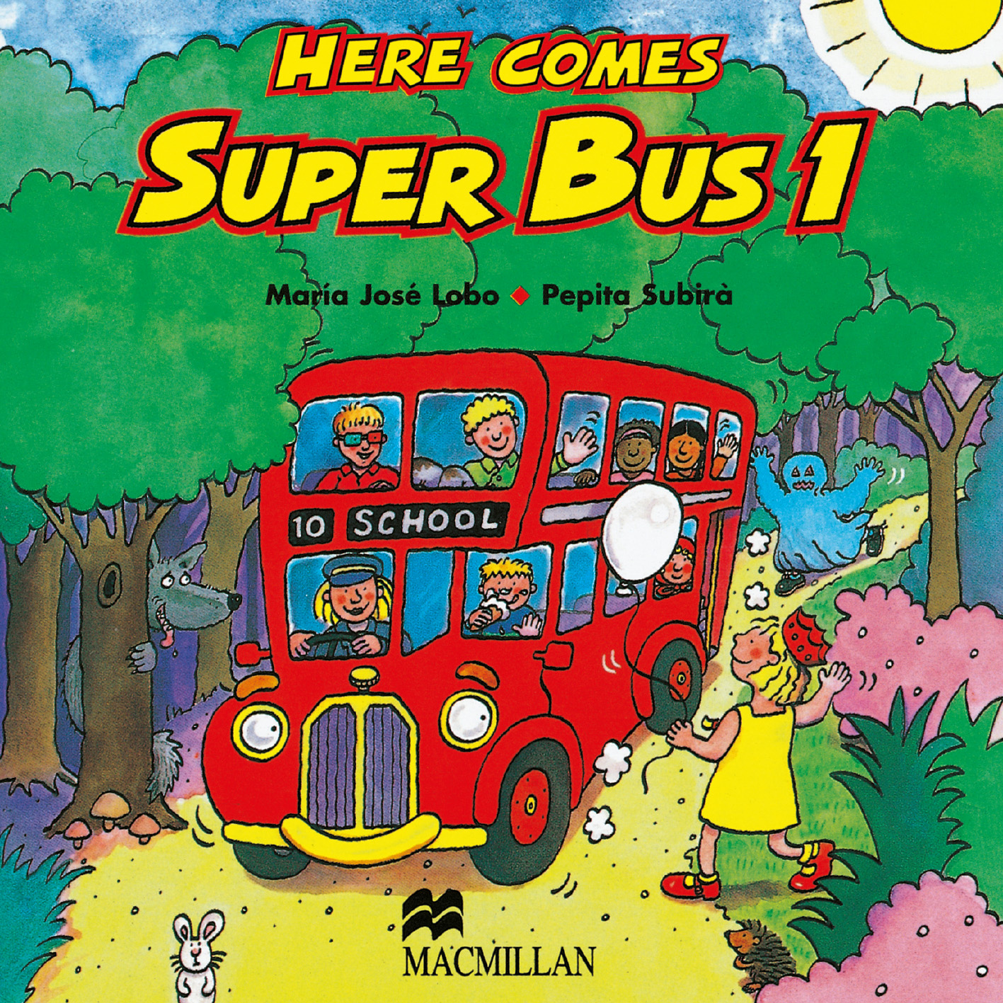 Here Comes Super Bus 1 Class Audio CD