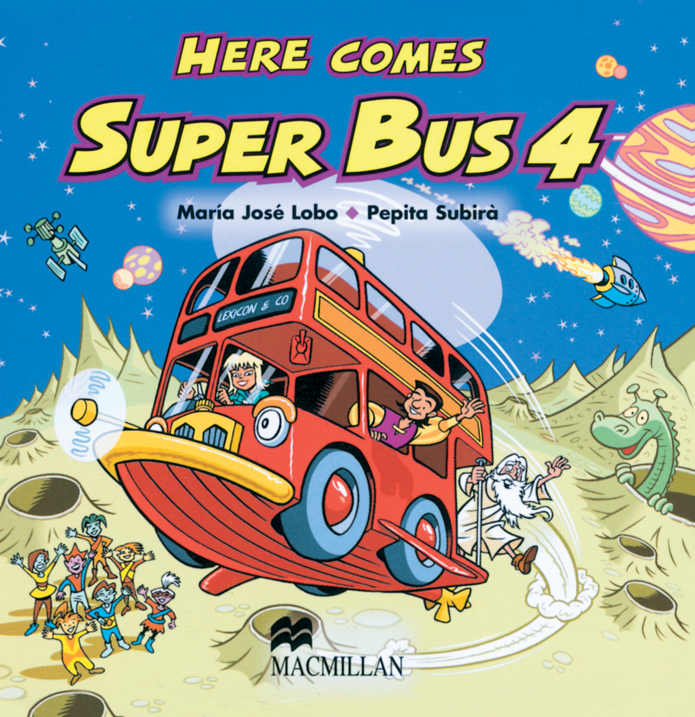 Here Comes Super Bus 4 Class Audio CD