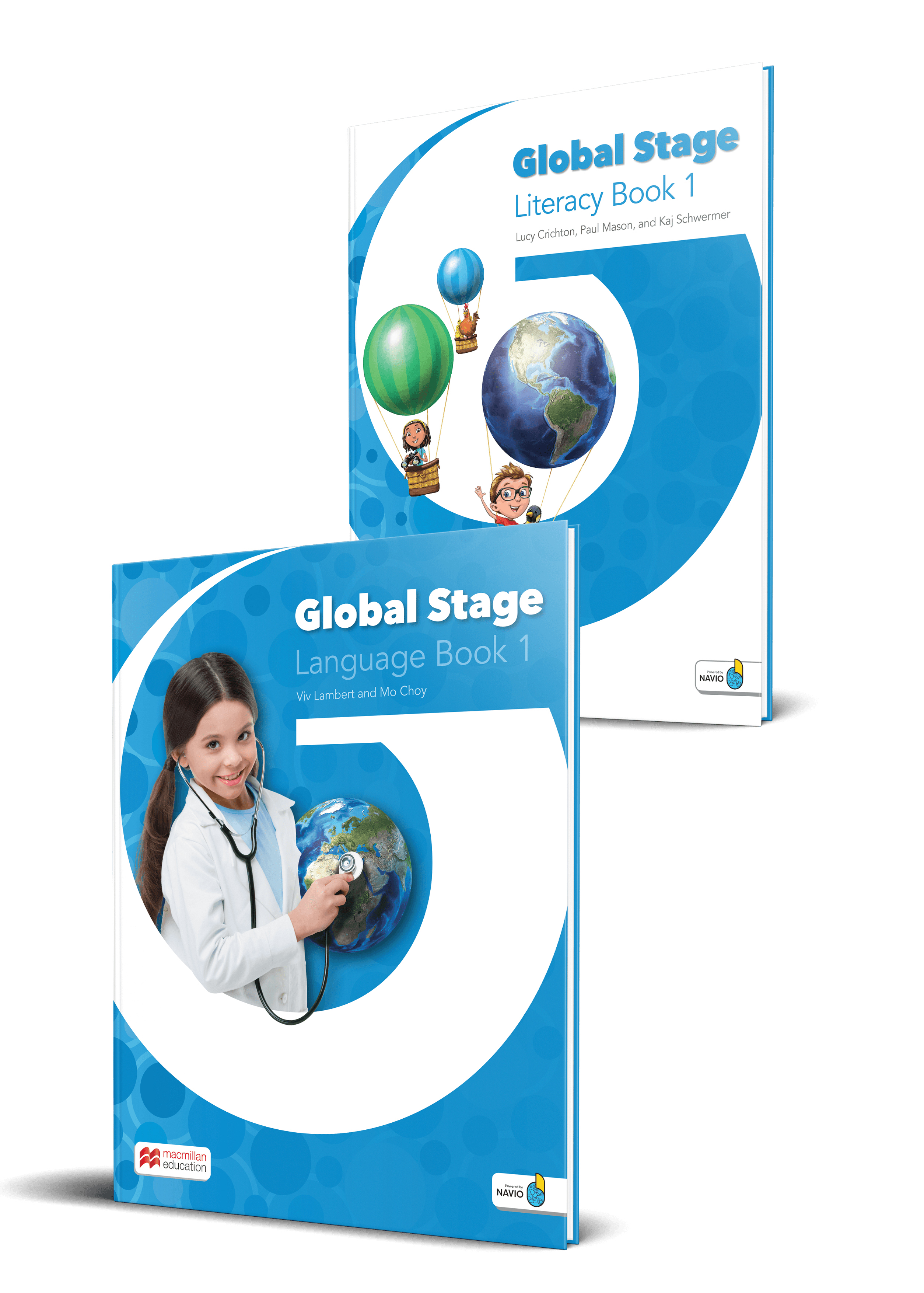 Global Stage Level 1 Literacy Book and Language Book with Navio App