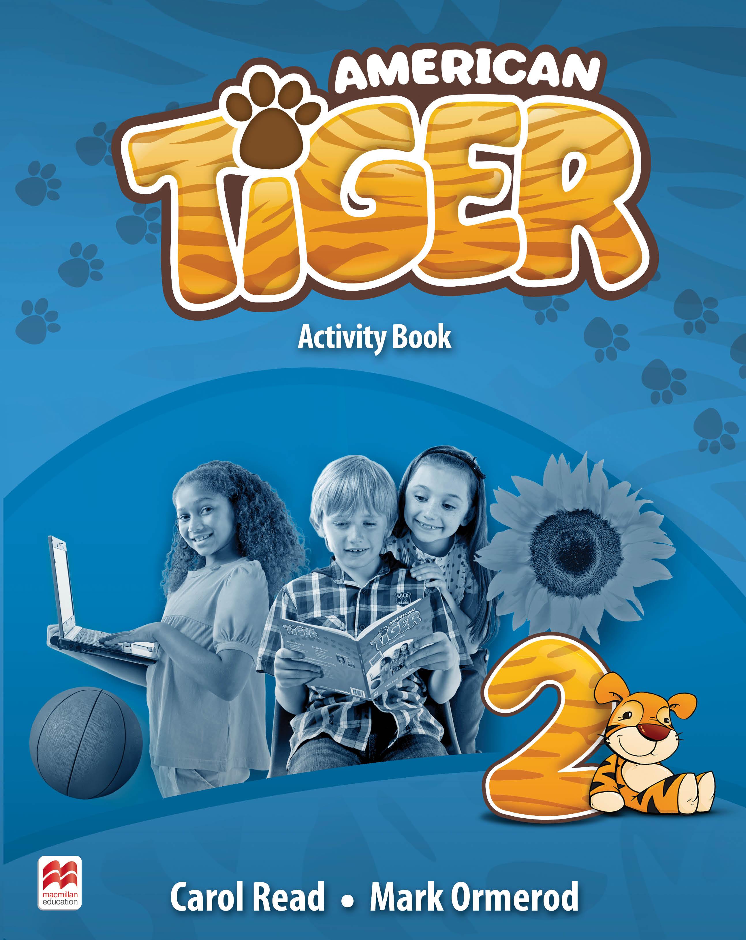 American Tiger Level 2 Activity Book