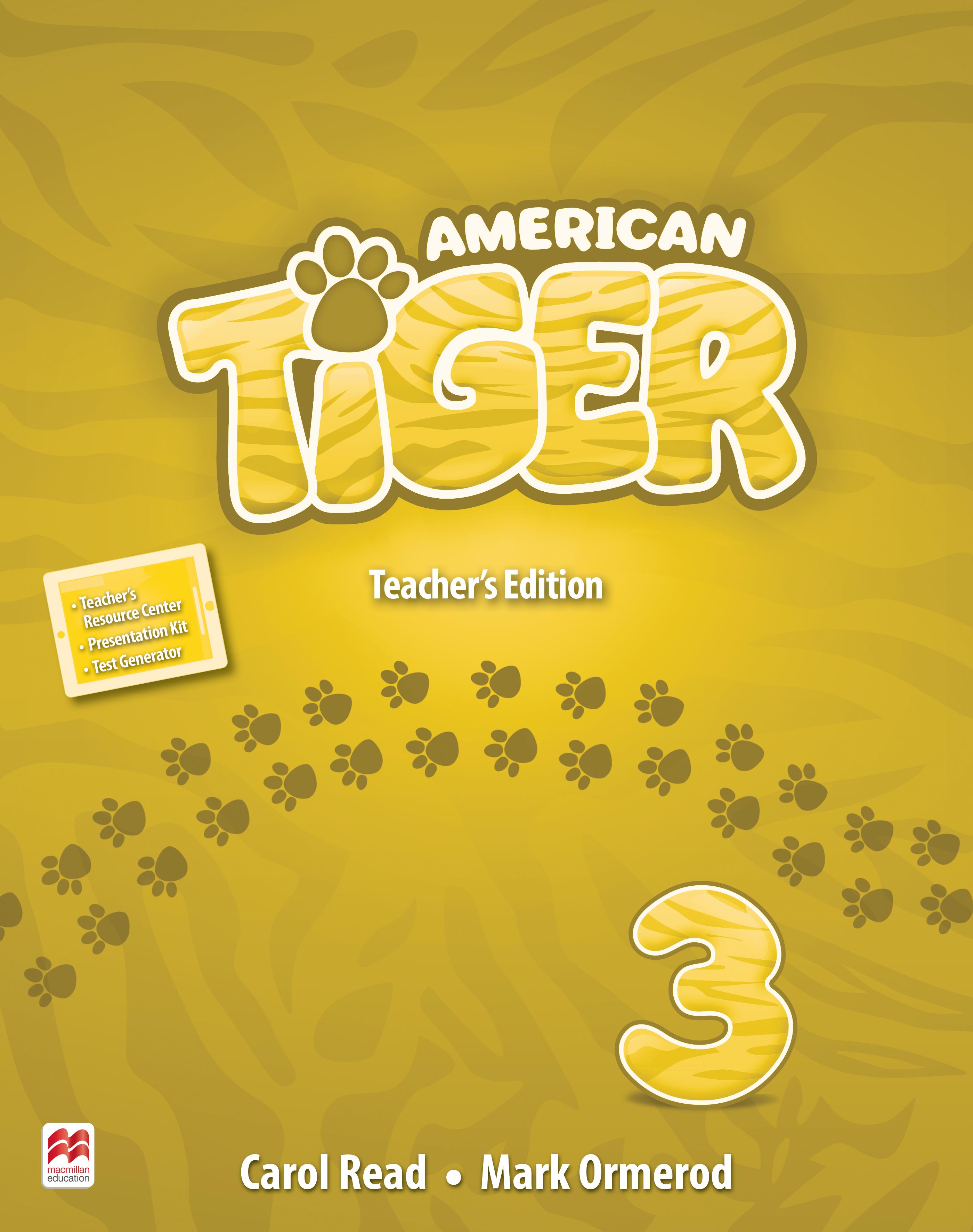 American Tiger Level 3 Teacher