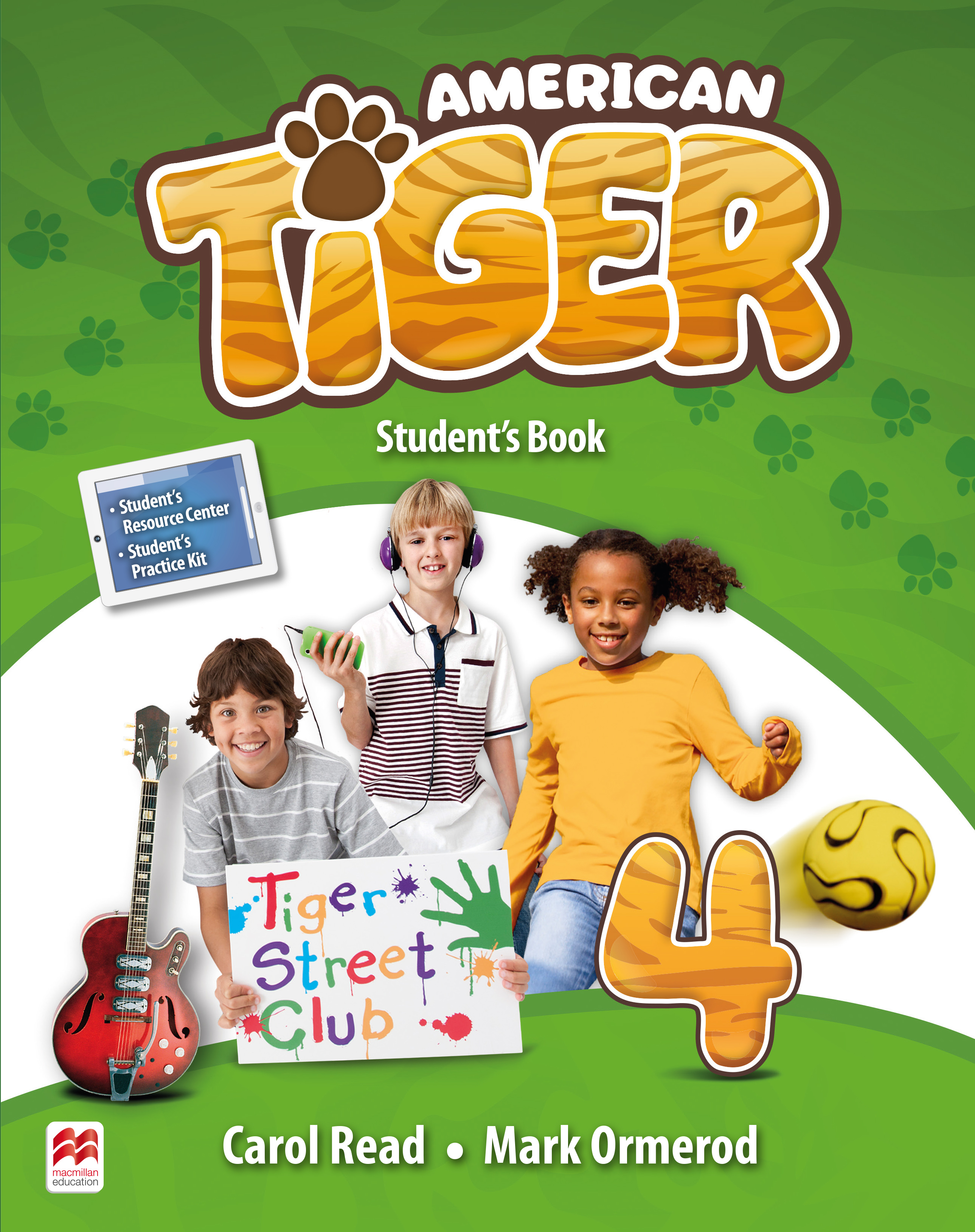 American Tiger Level 4 Student