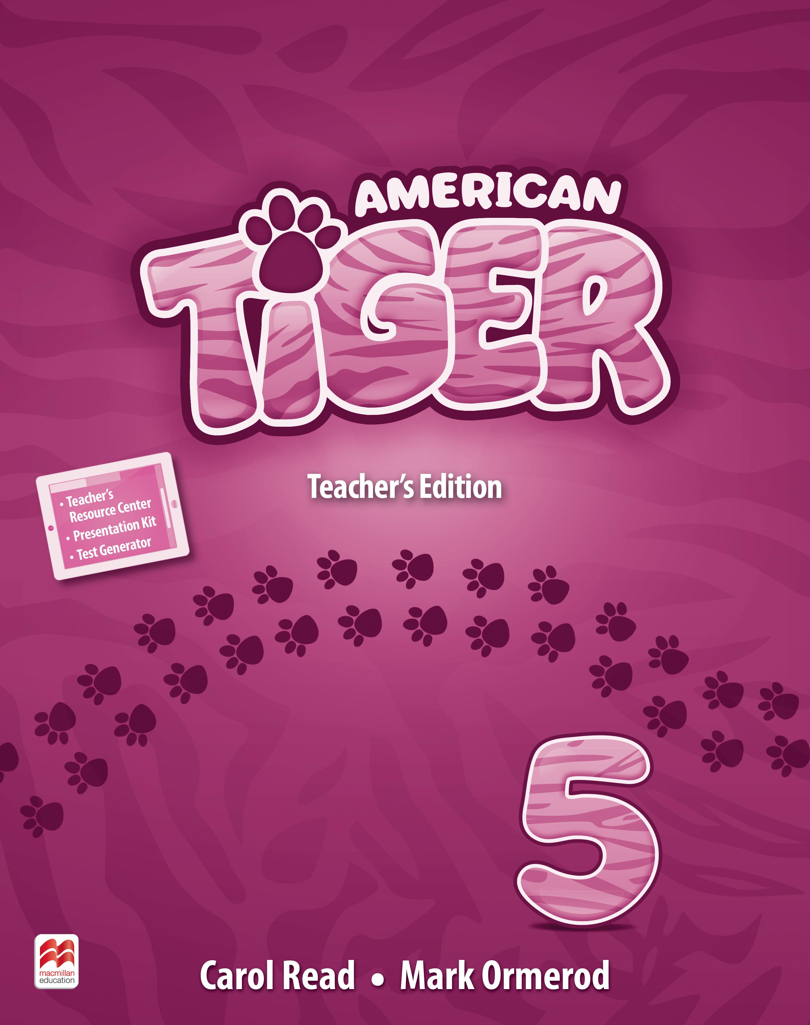 American Tiger Level 5 Teacher