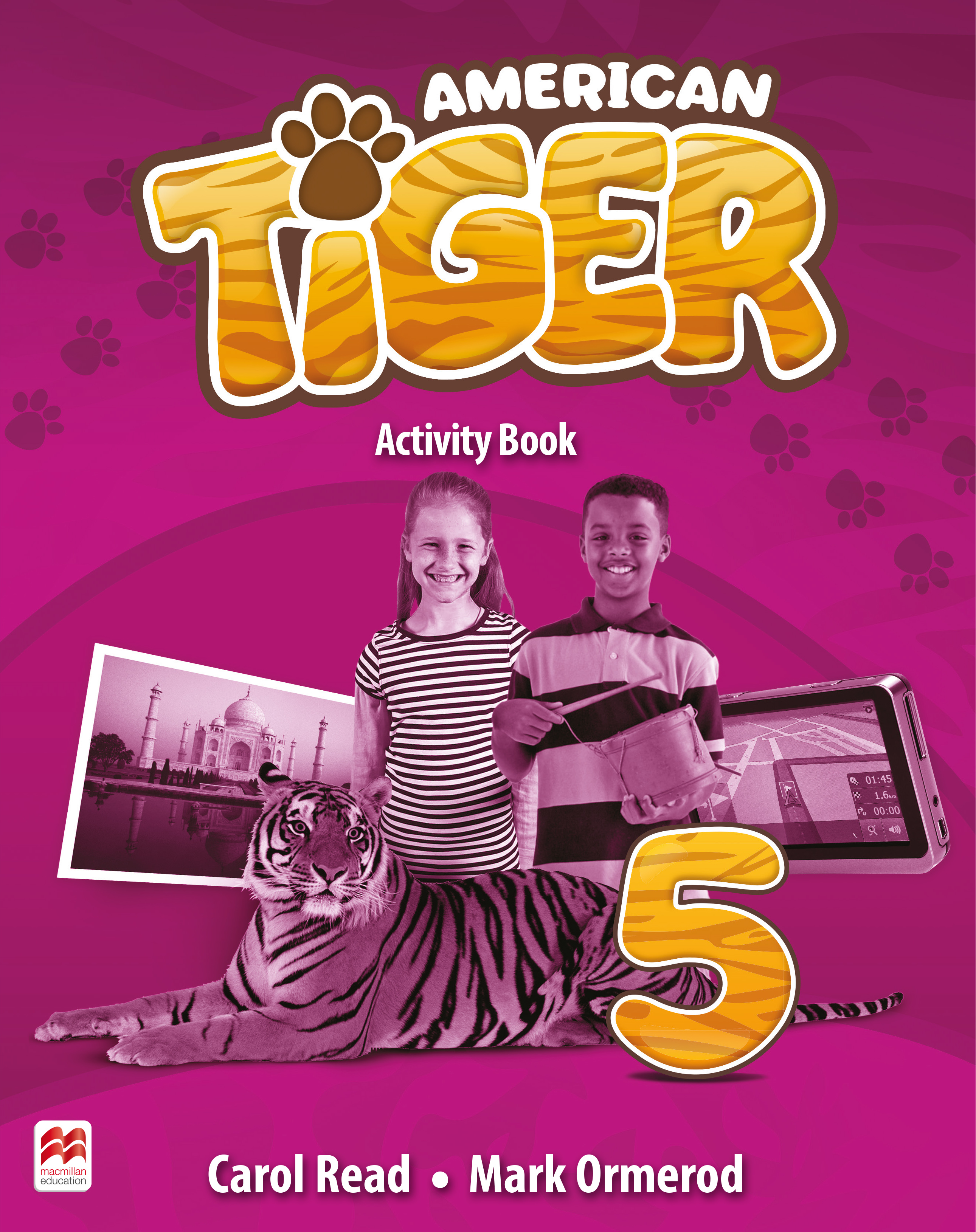 American Tiger Level 5 Activity Book