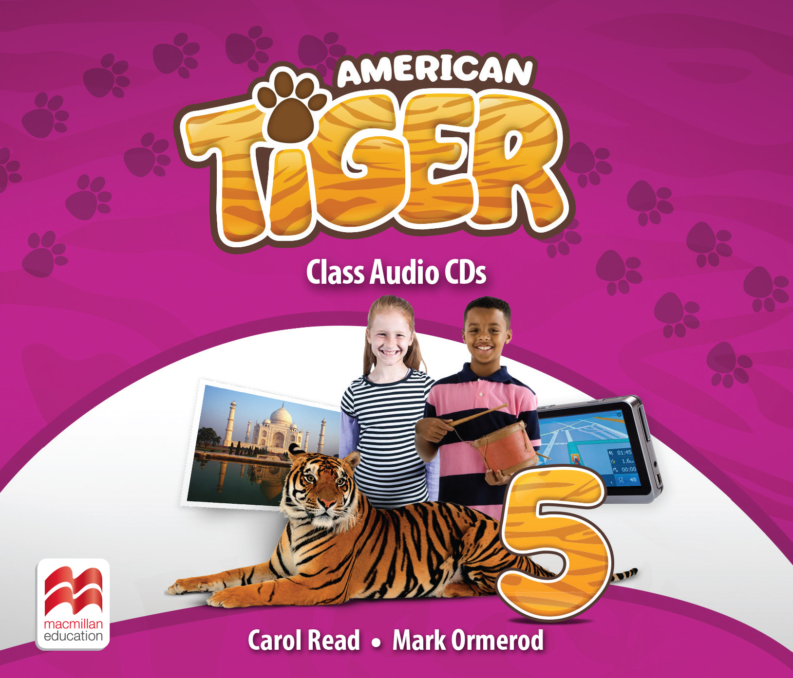 American Tiger Level 5 Audio CD
