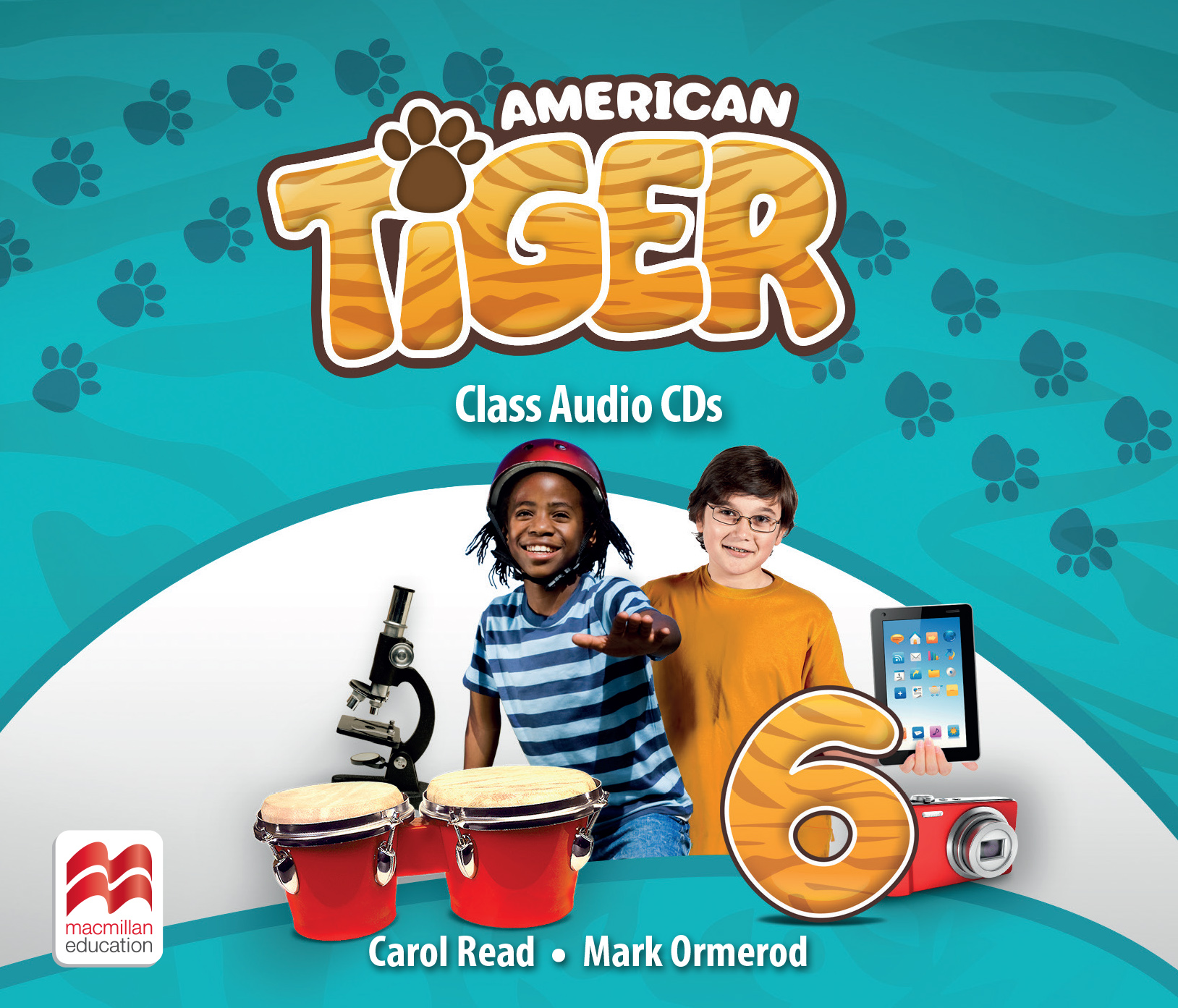 American Tiger Level 6 Audio CD
