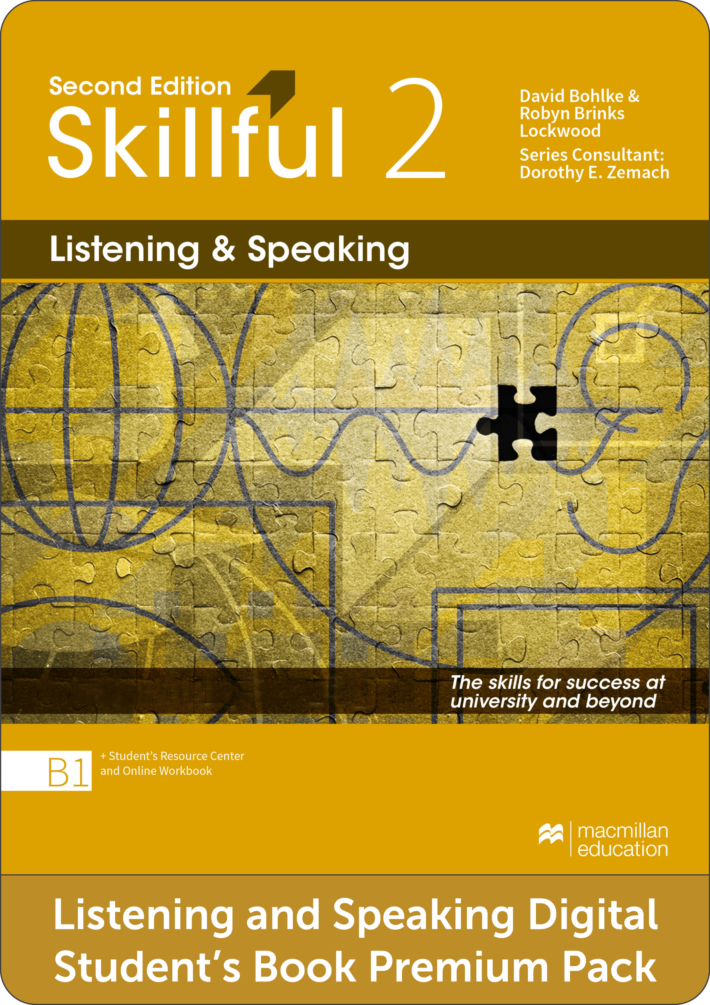 Skillful Second Edition Level 2 Listening and Speaking Premium Digital Student's Book Pack