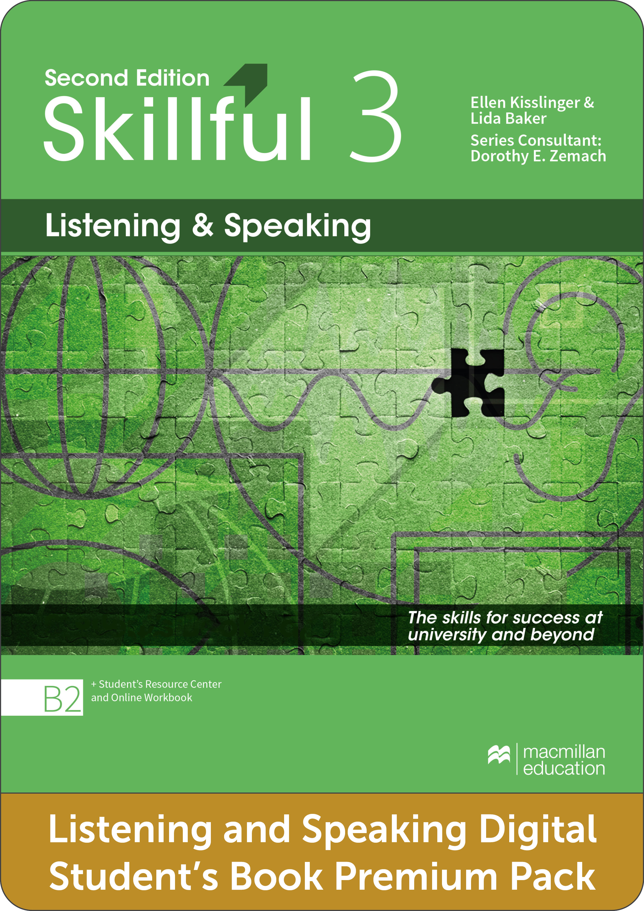 Skillful Second Edition Level 3 Listening and Speaking Premium Digital Student's Book Pack
