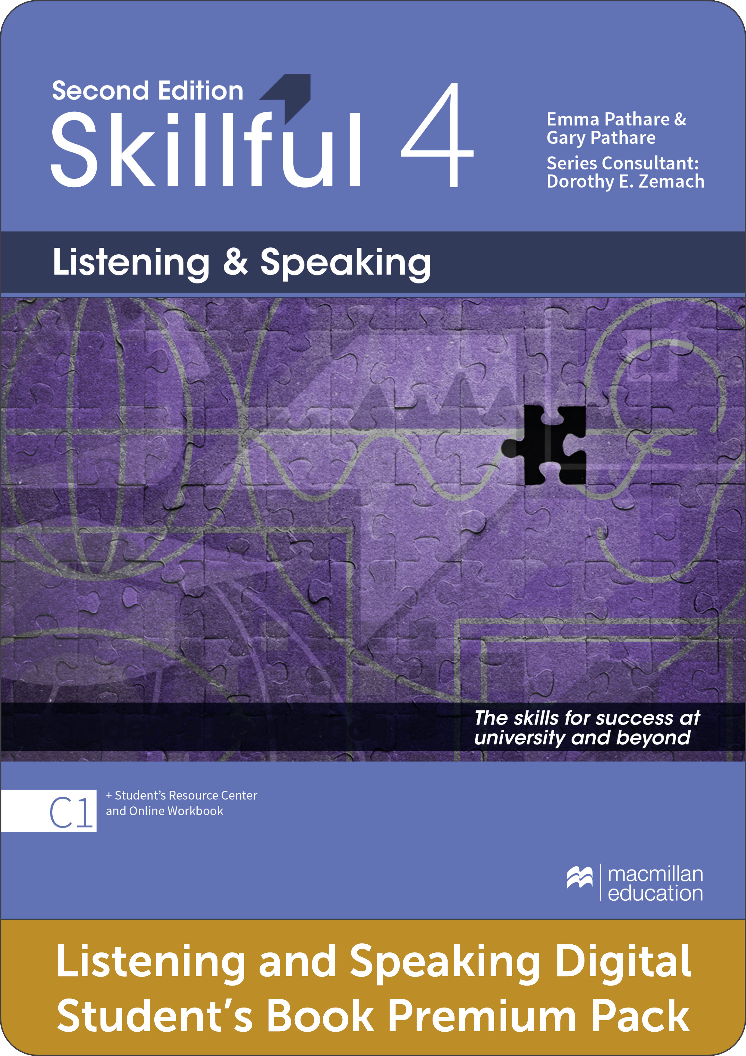 Skillful Second Edition Level 4 Listening and Speaking Premium Digital Student's Book Pack
