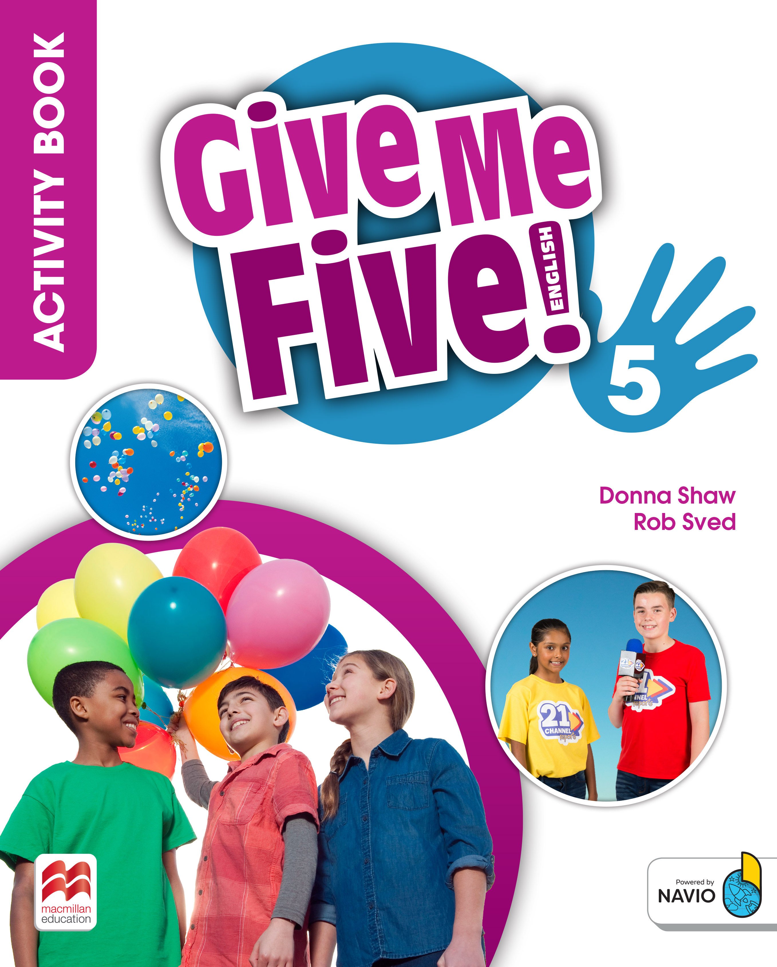Give Me Five! Level 5 Activity Book