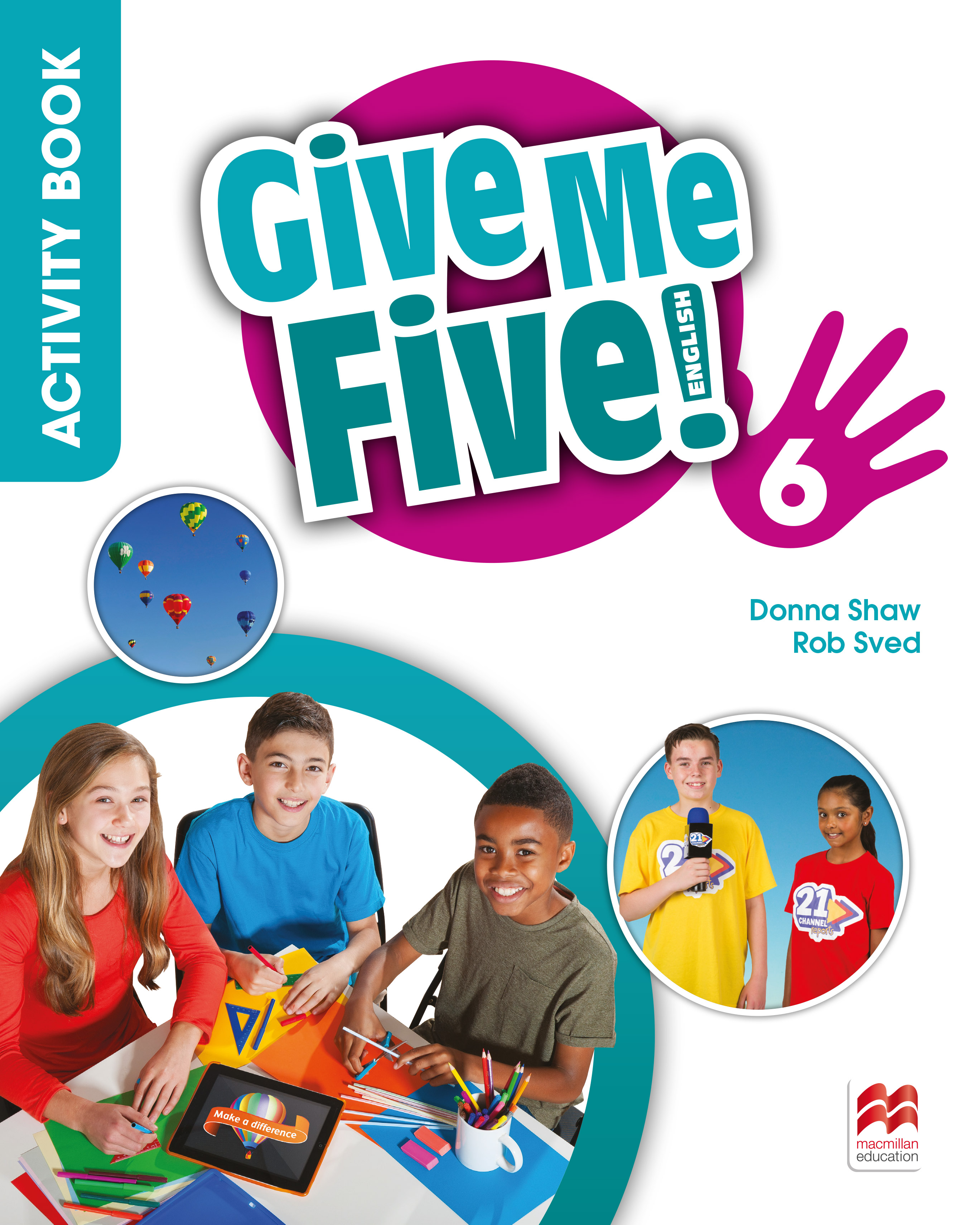Give Me Five! Level 6 Activity Book