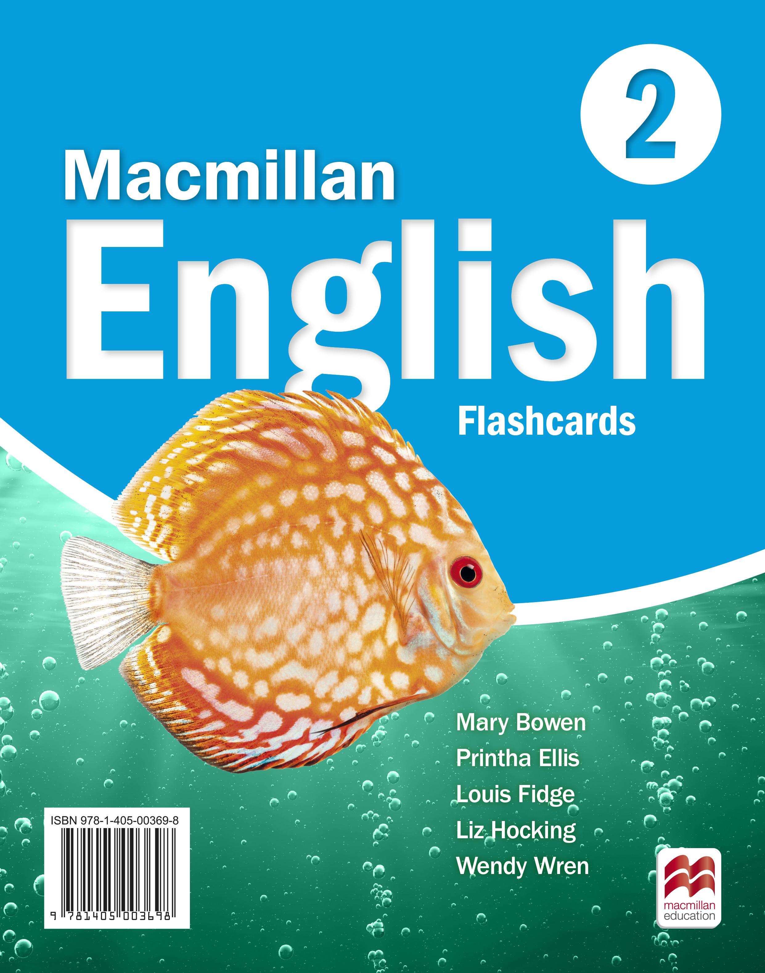 Macmillan English 2 Flashcards