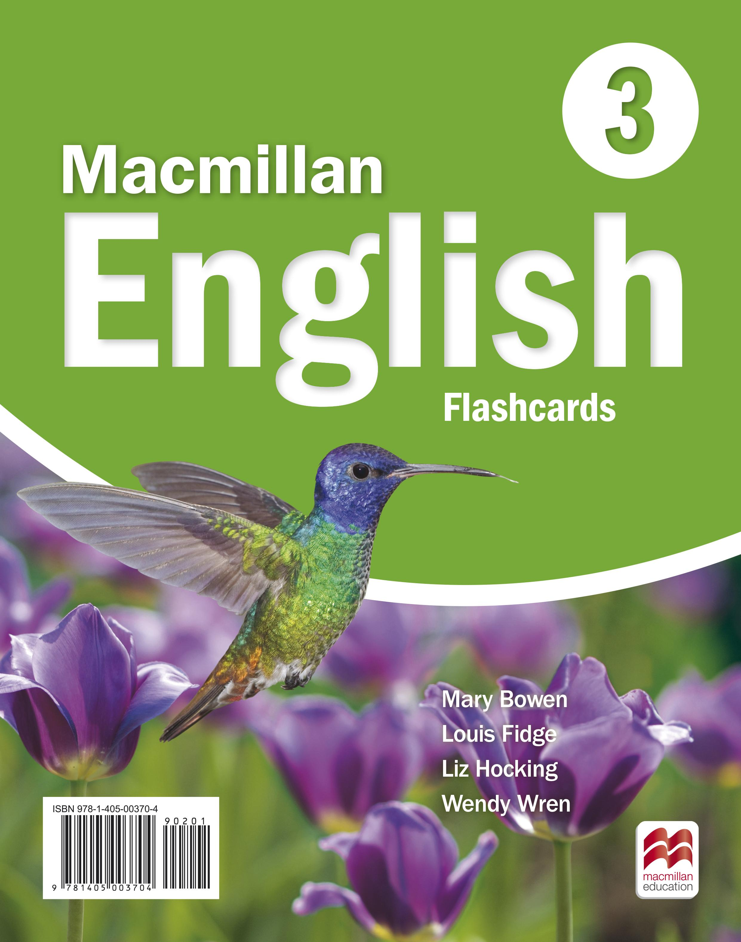 Macmillan English 3 Flashcards
