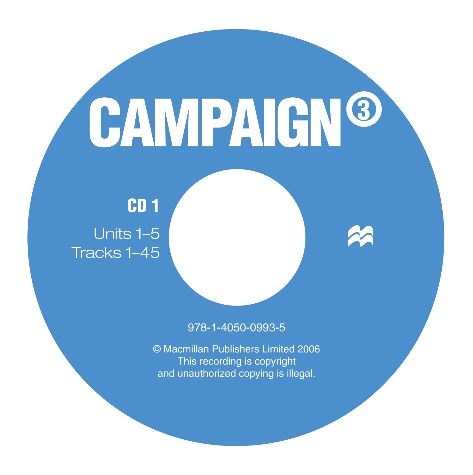 Campaign 3 Class Audio CDs