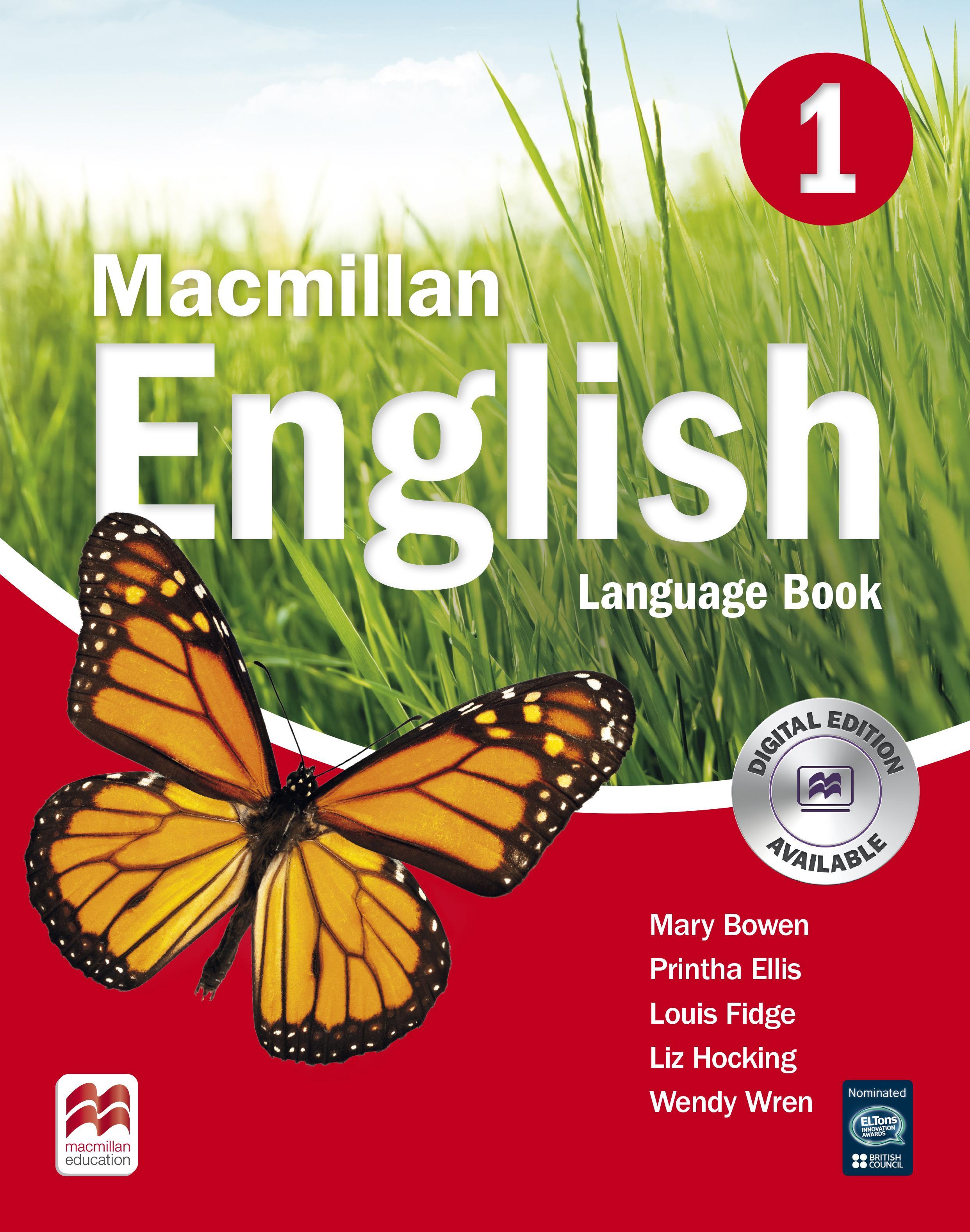 Macmillan English 1 Language Book