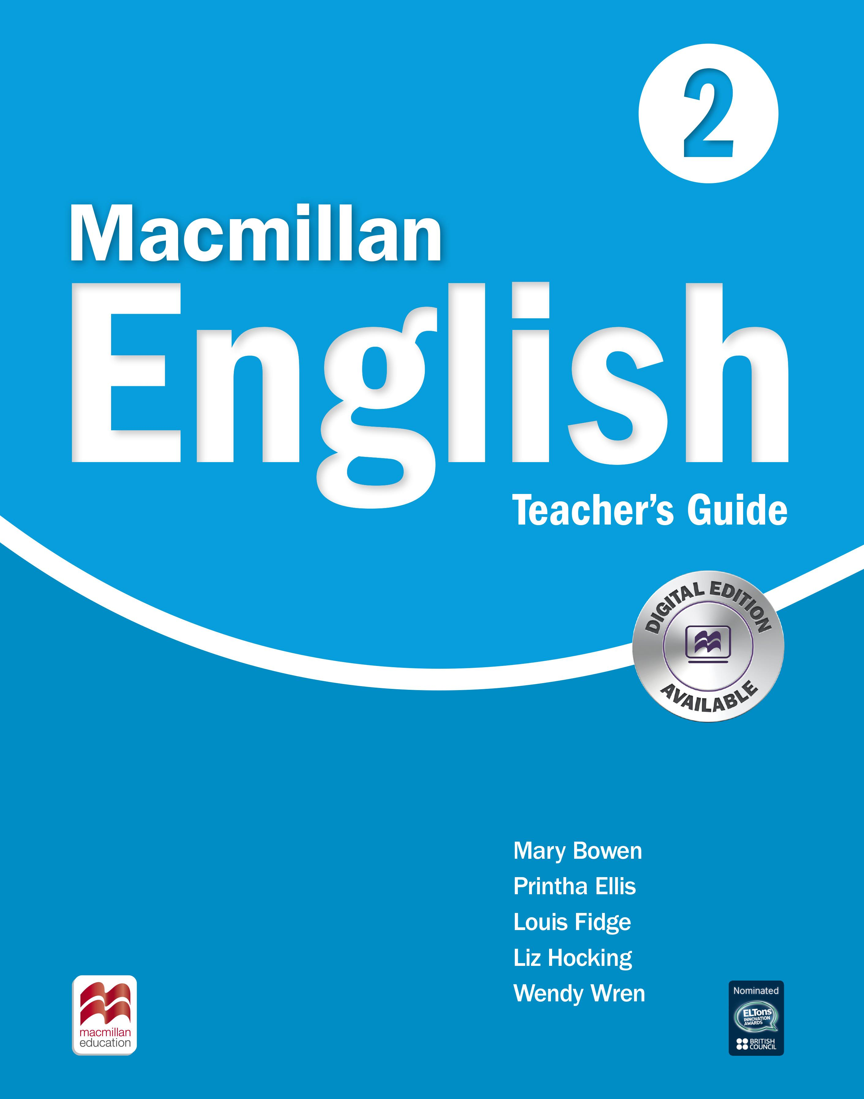 Macmillan English Language Book 2 Teachers Guide