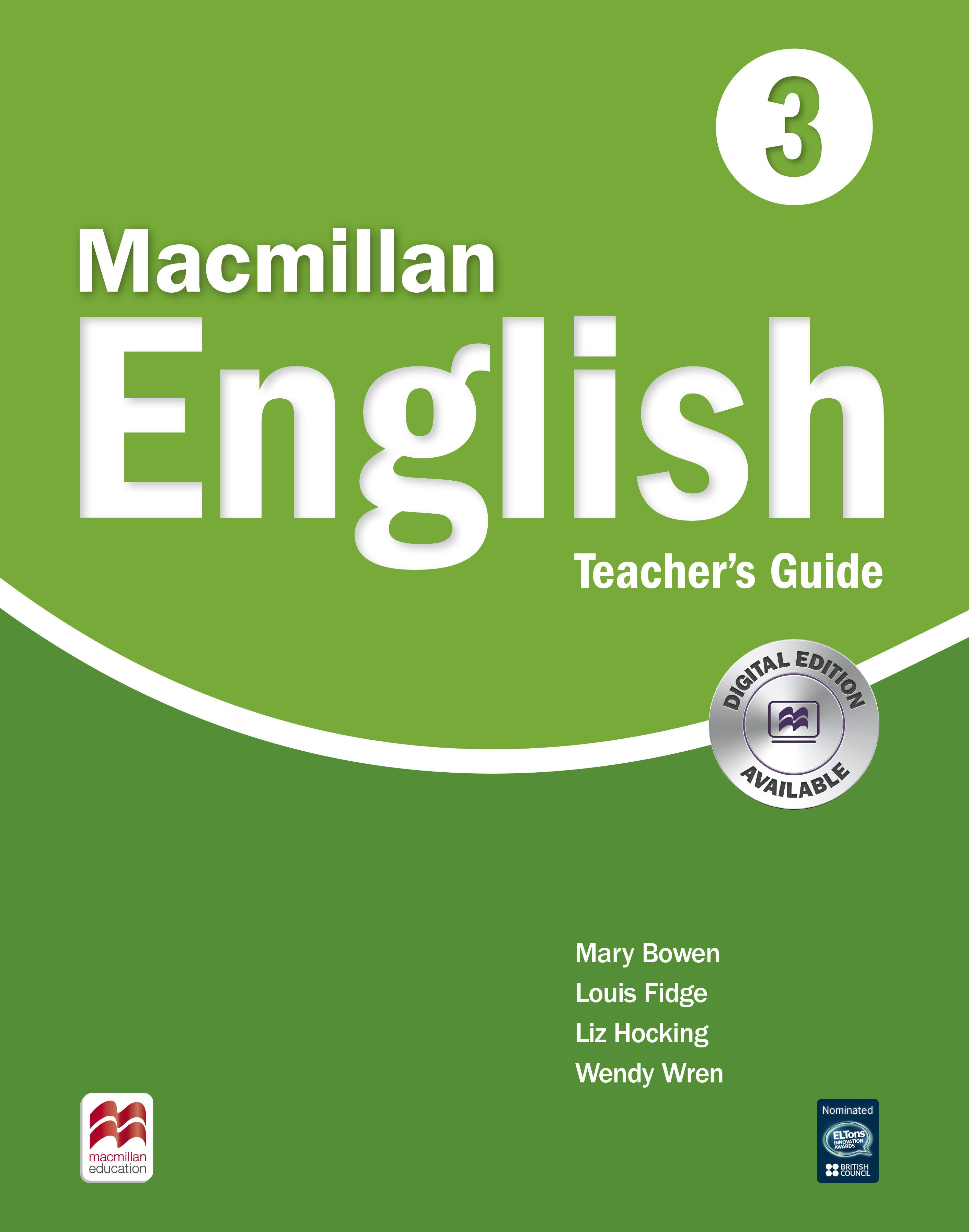Macmillan English 3 Teacher