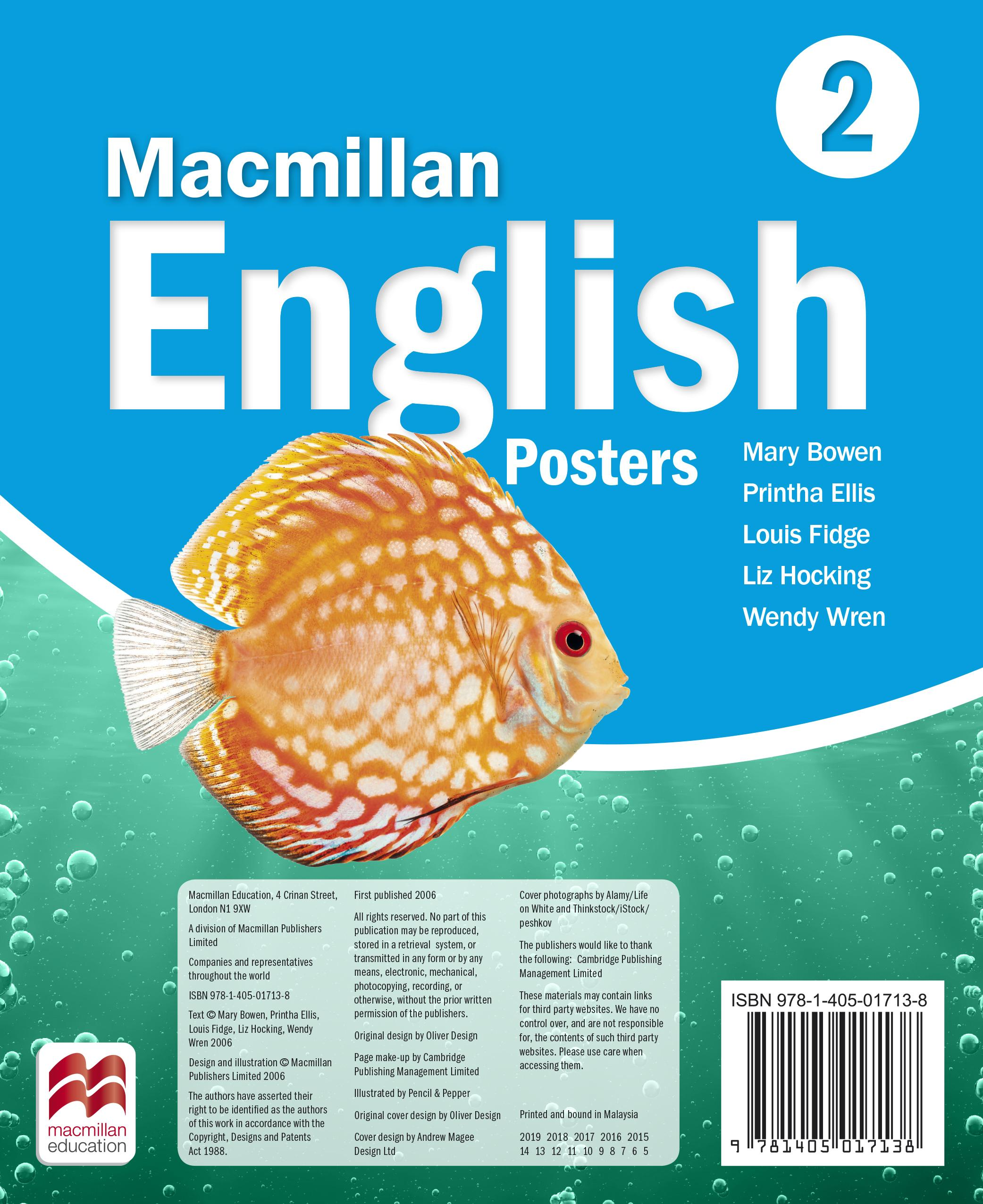 Macmillan English 2 Posters