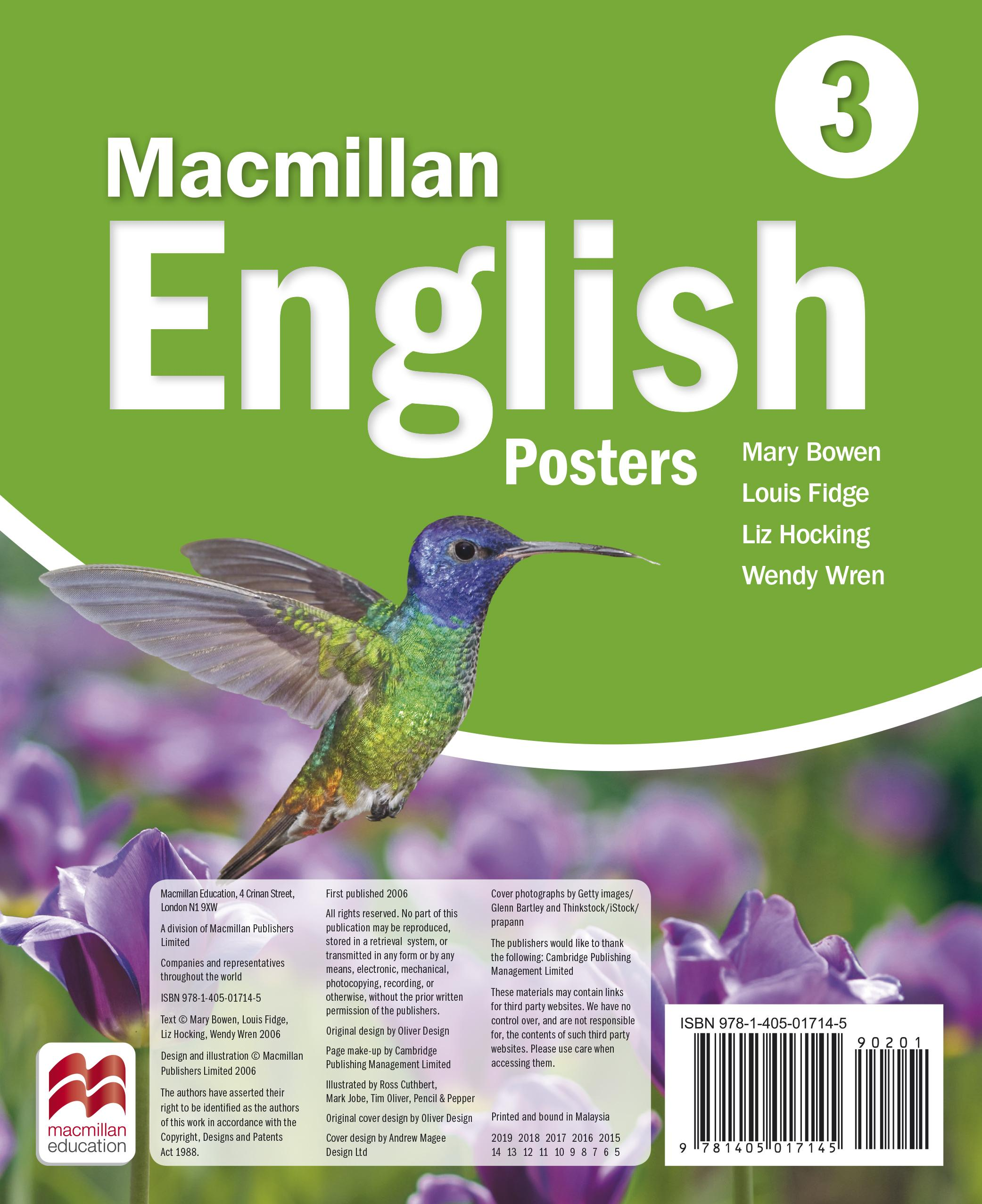 Macmillan English 3 Posters