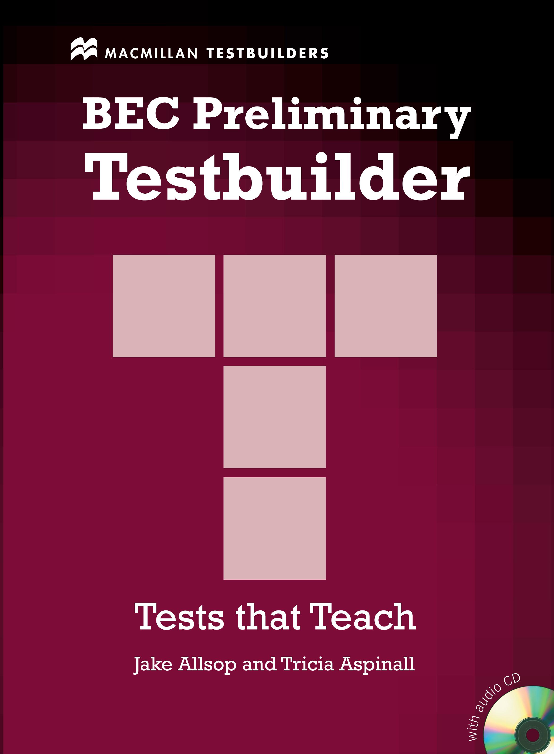 BEC Preliminary Testbuilder + Audio CD Pack
