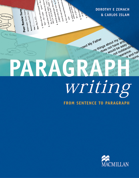 Paragraph Writing Student