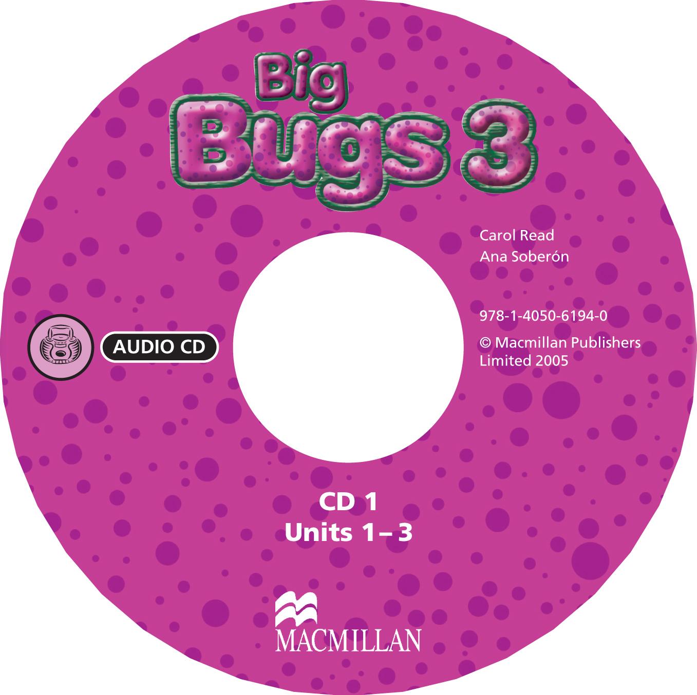 Big Bugs 3 Audio CD