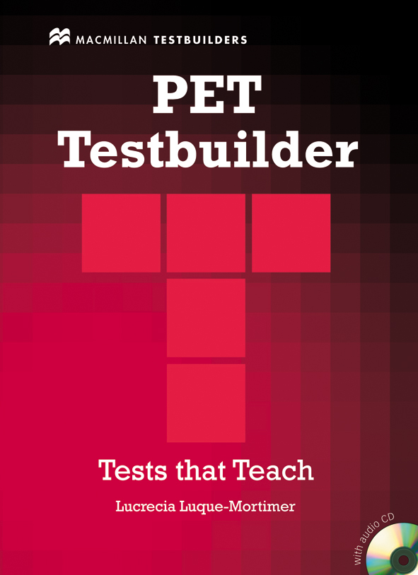 PET Testbuilder without Key + Audio CD Pack