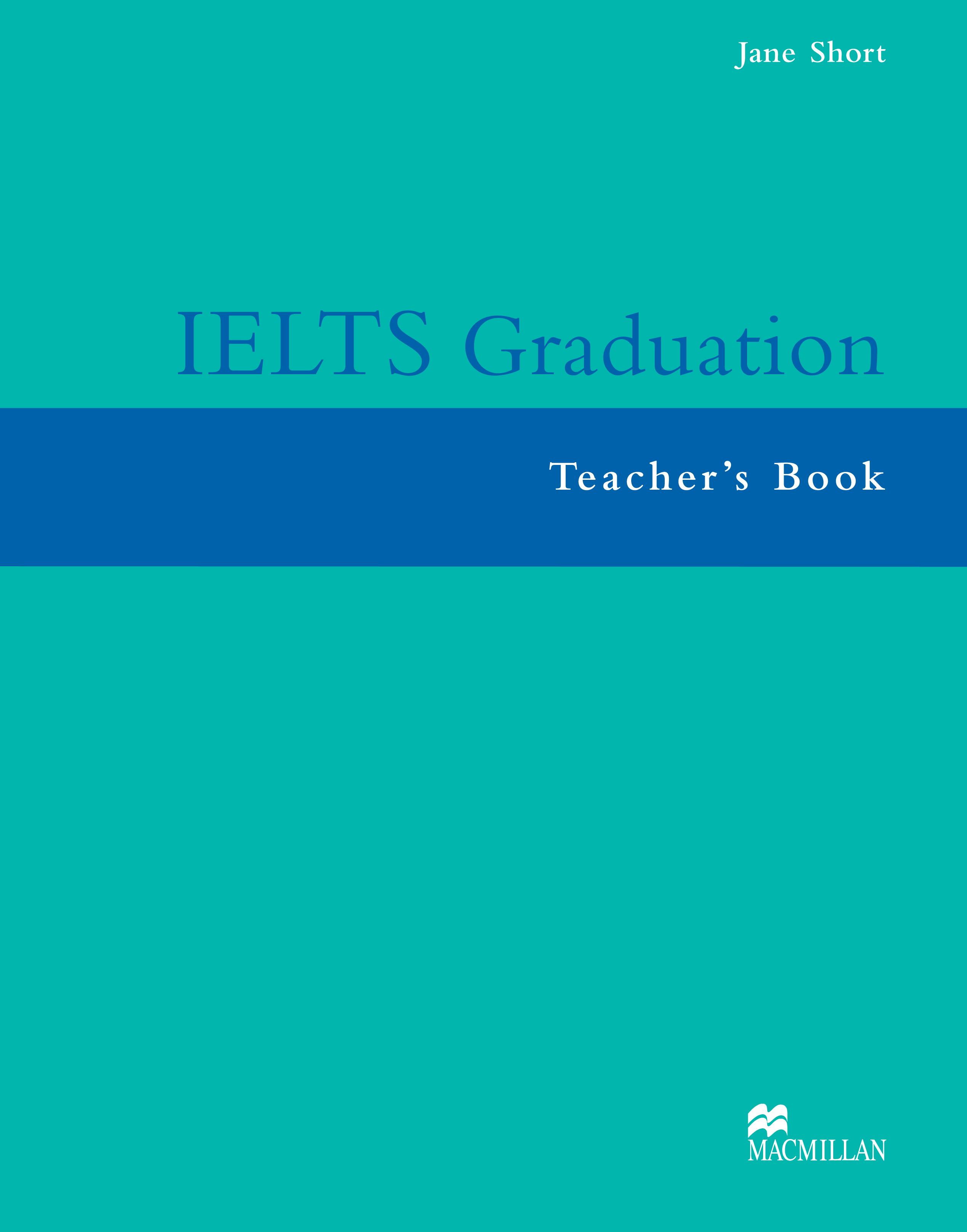 IELTS Graduation Teacher