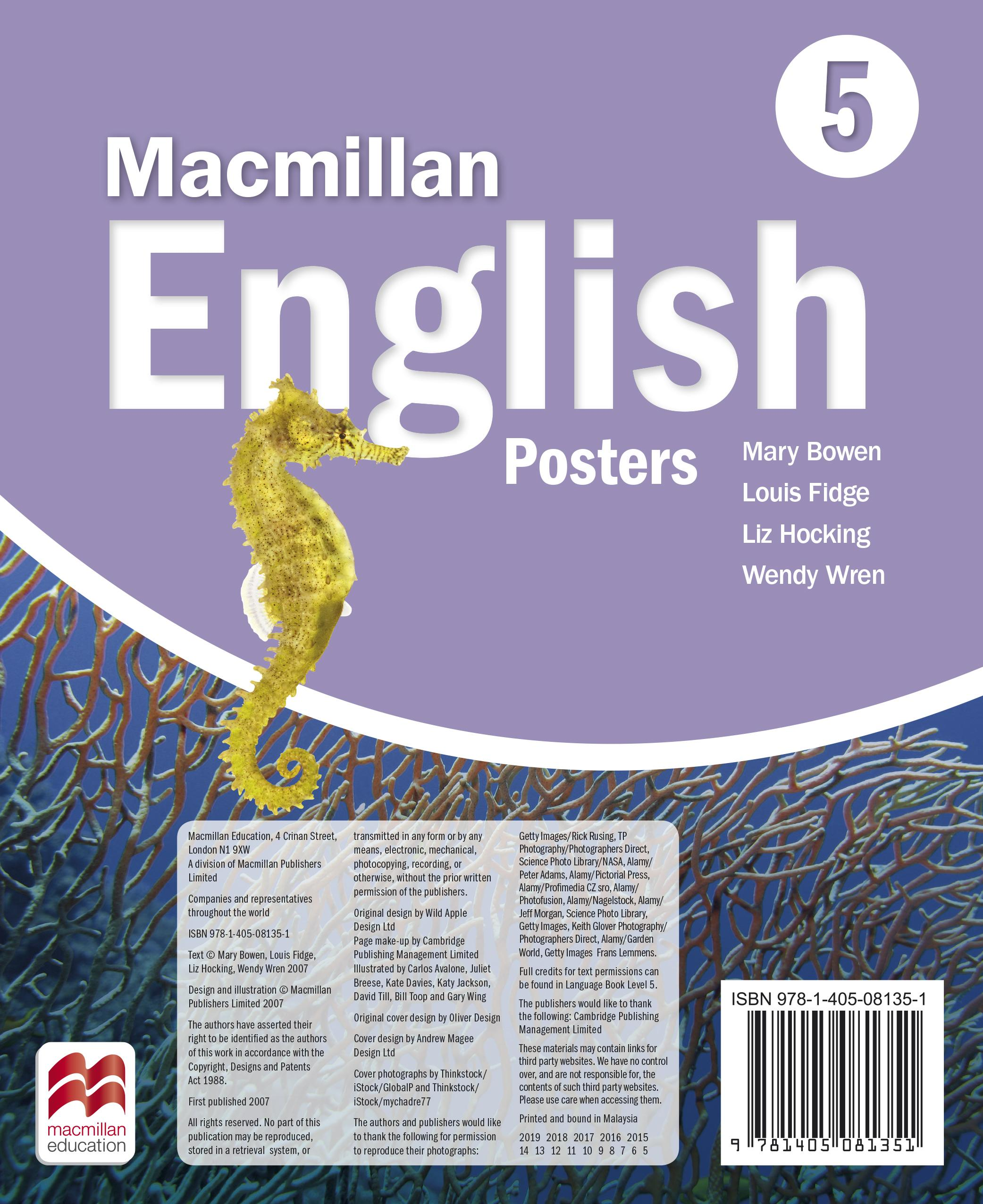 Macmillan English 5 Posters