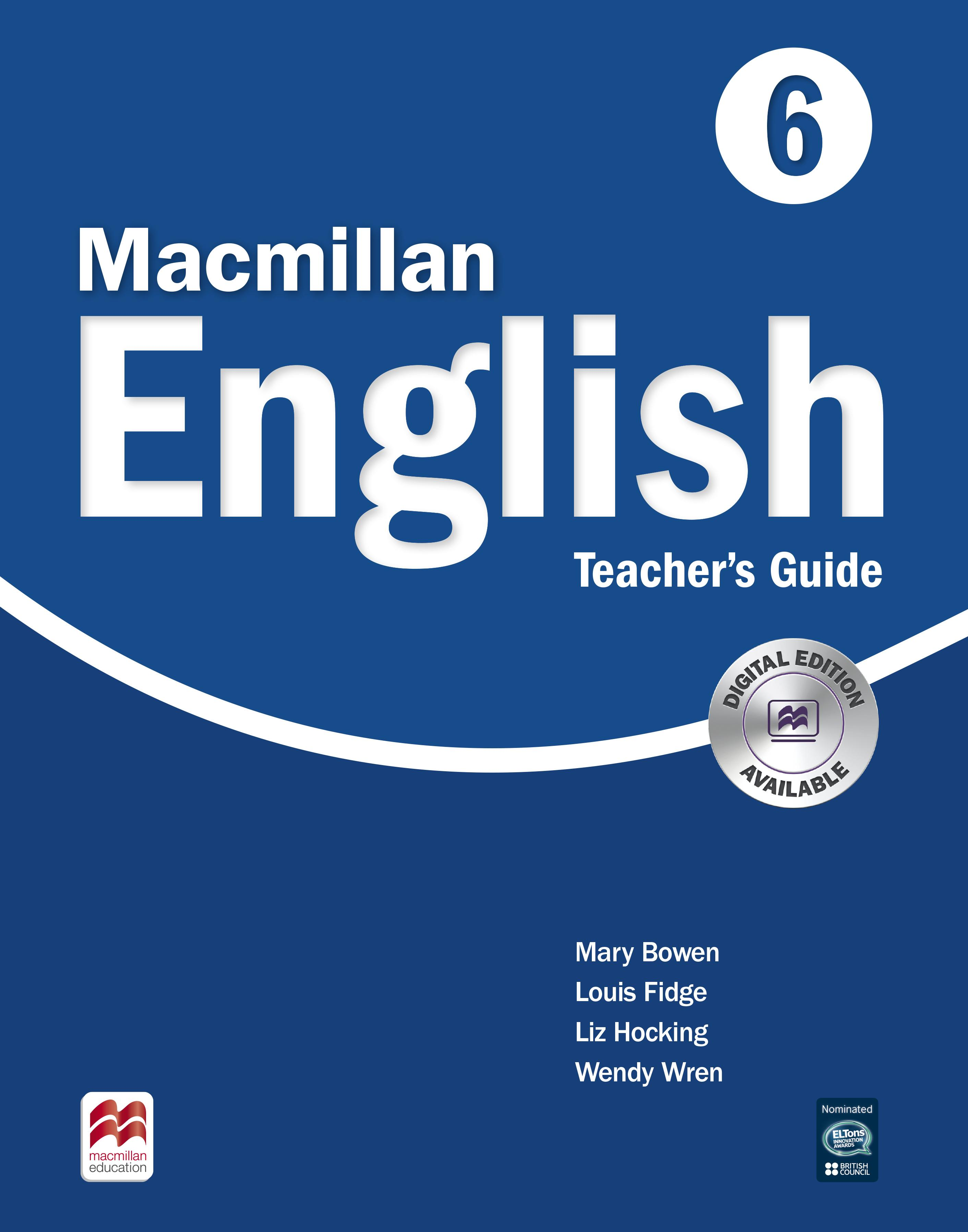 Macmillan English 6 Teacher's Guide