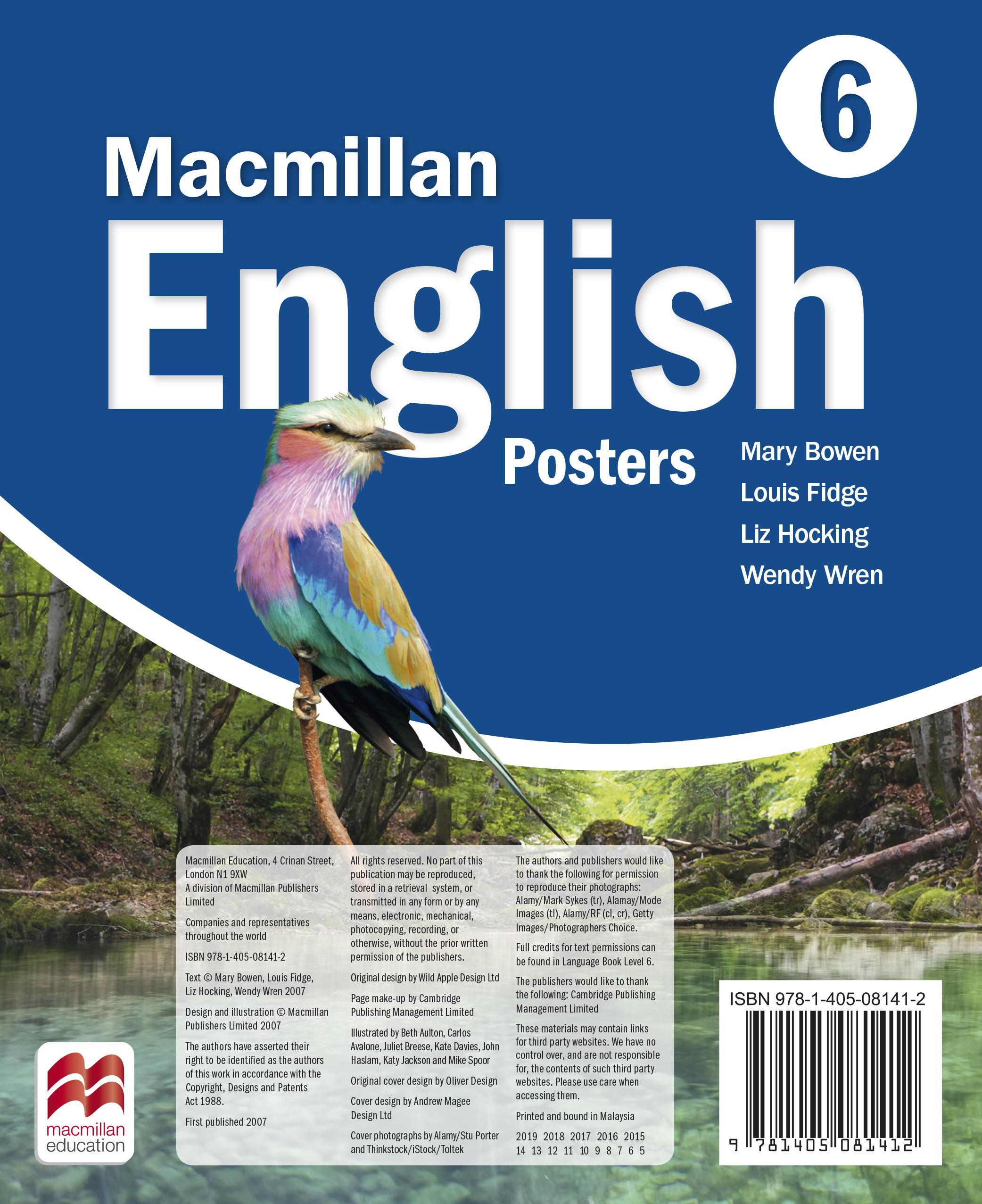 Macmillan English 6 Posters