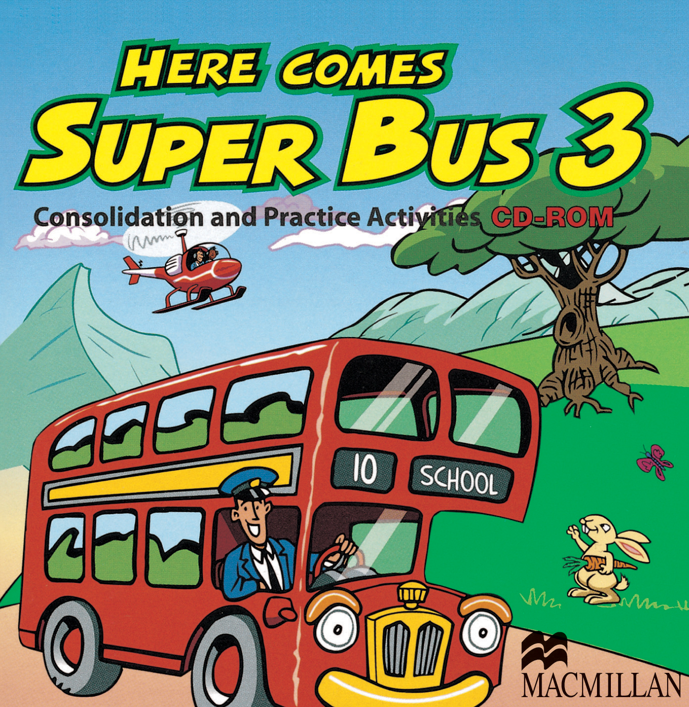 Here Comes Super Bus 3 Consolidation and Practice Activities CD-ROM