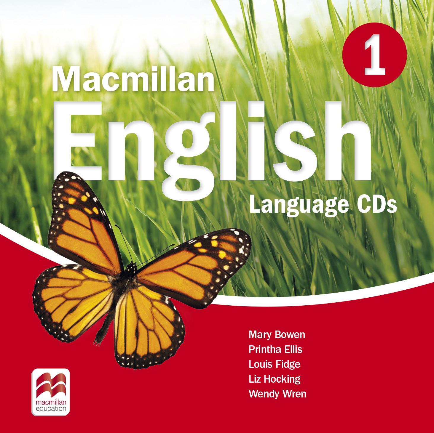 Macmillan English 1 Language Book Audio CDs