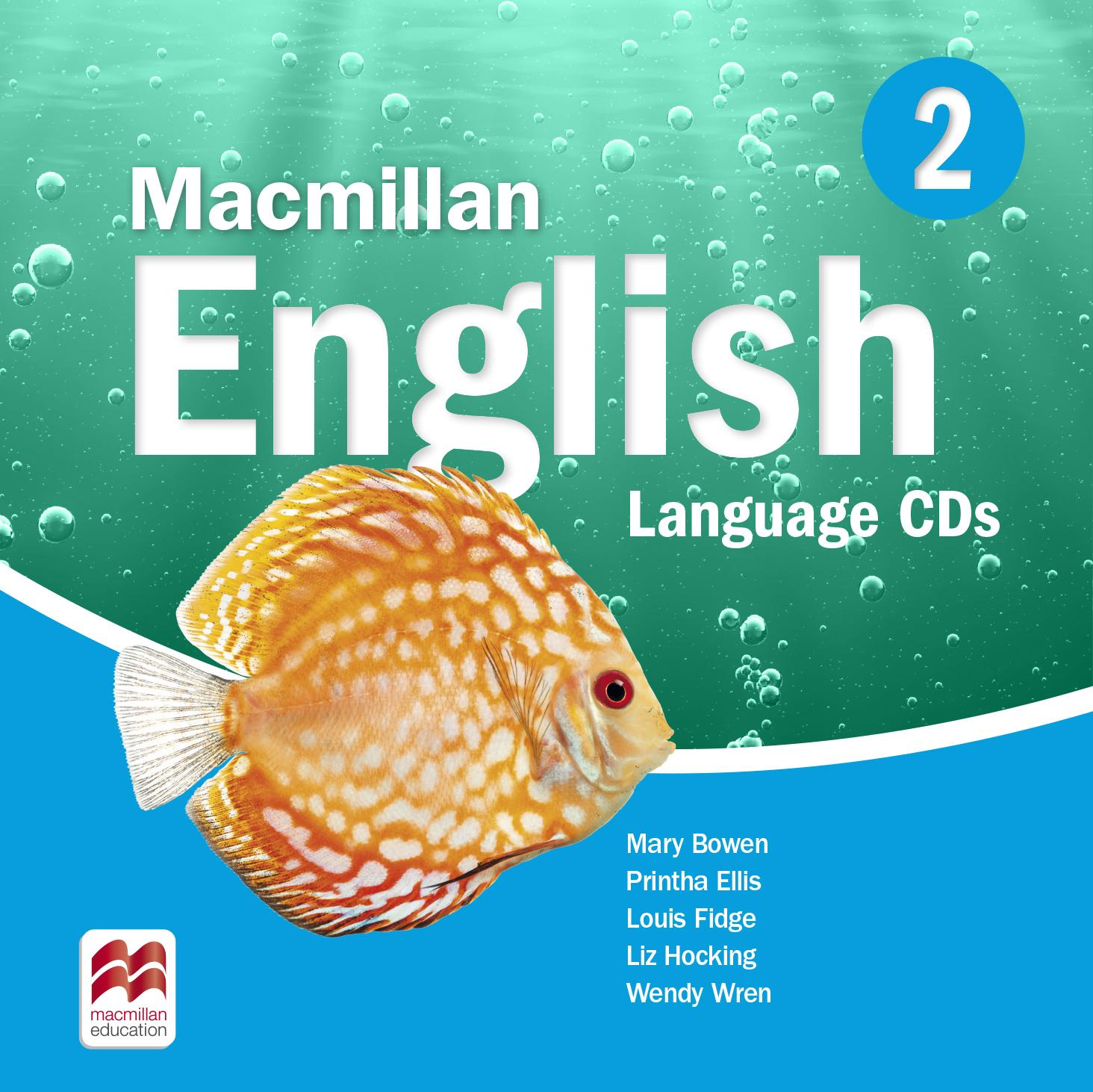 Macmillan English 2 Language Book Audio CDs