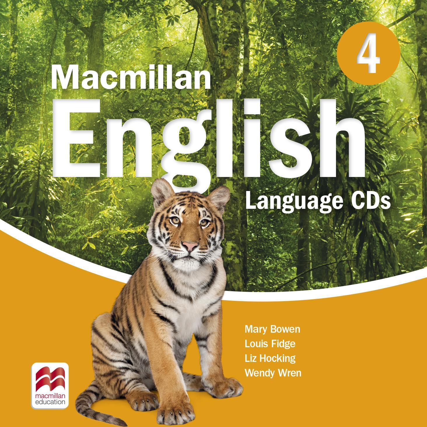 Macmillan English 4 Language Book Audio CDs