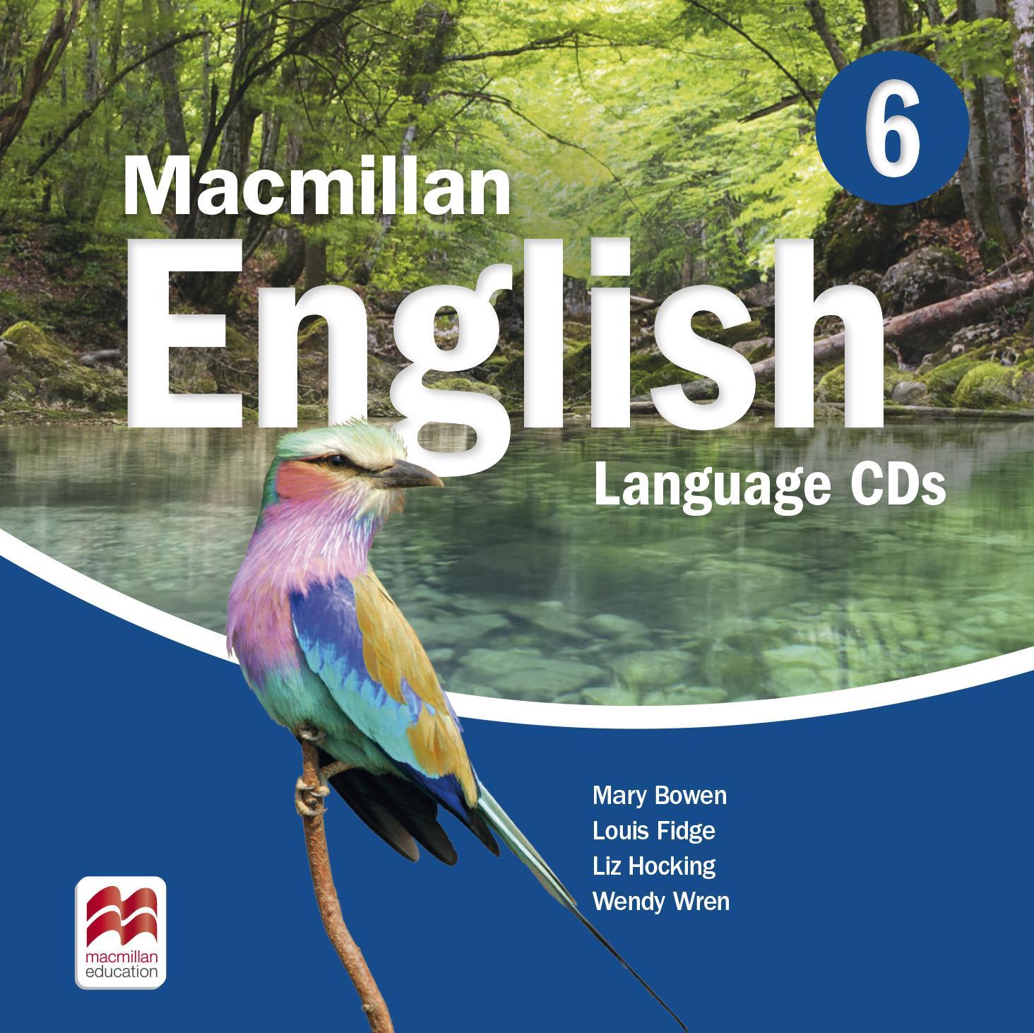Macmillan English 6 Language Book Audio CDs