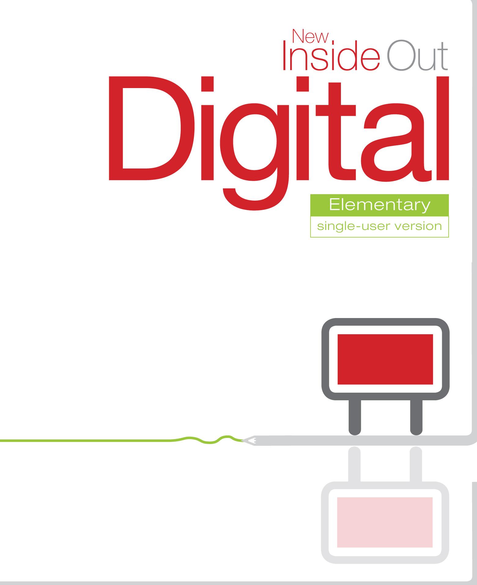 New Inside Out Elementary Digital Single User