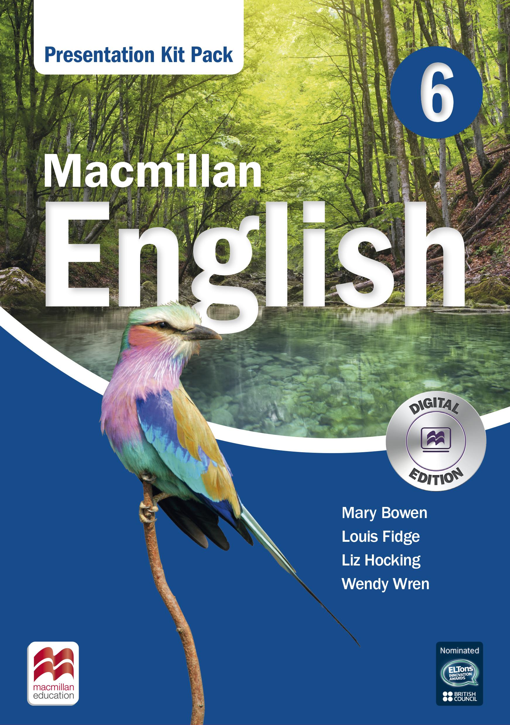 Macmillan English 6 Presentation Kit Pack