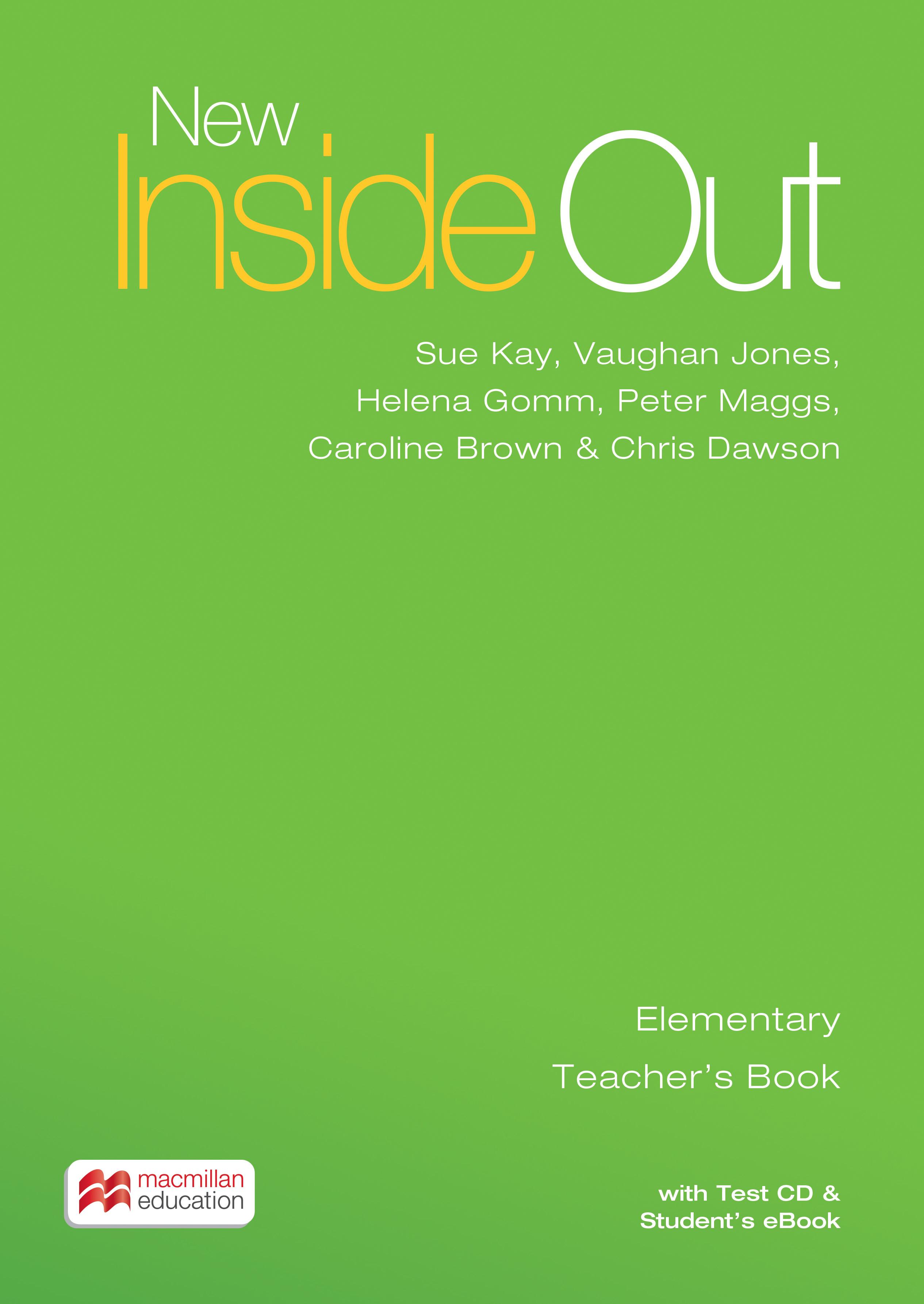 New Inside Out Elementary + eBook Teacher