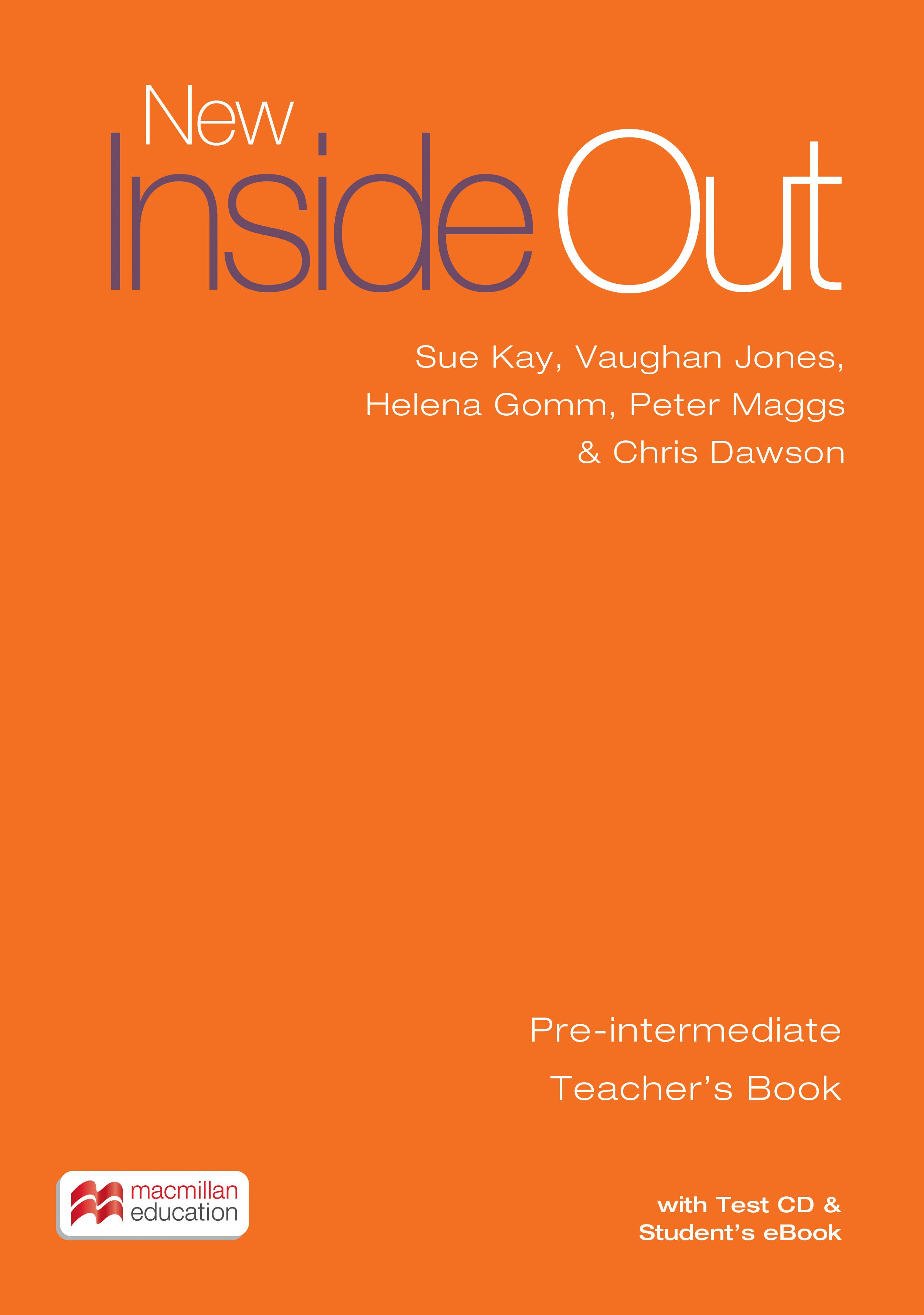 New Inside Out Pre-intermediate + eBook Teacher