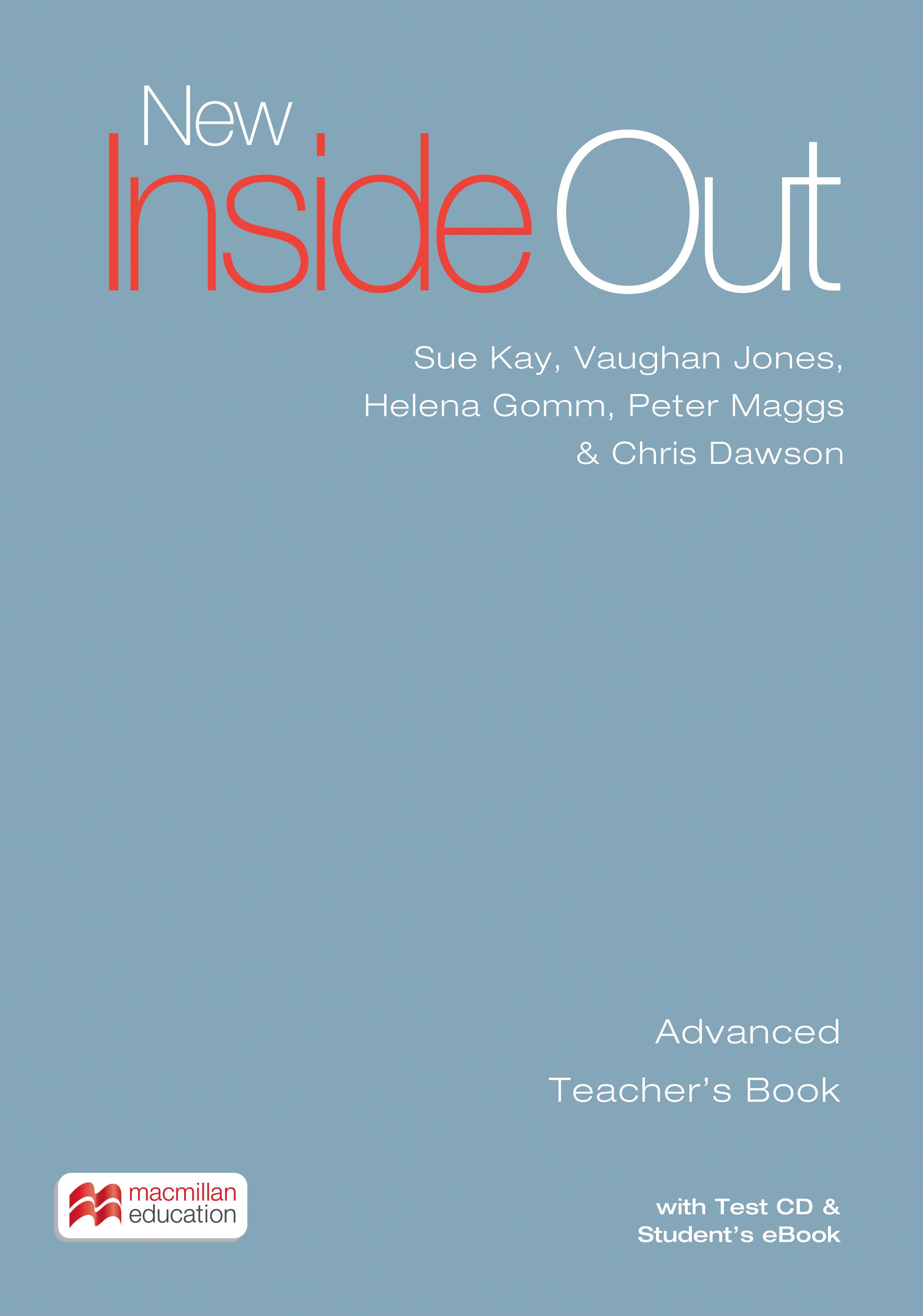 New Inside Out Advanced + eBook Teacher