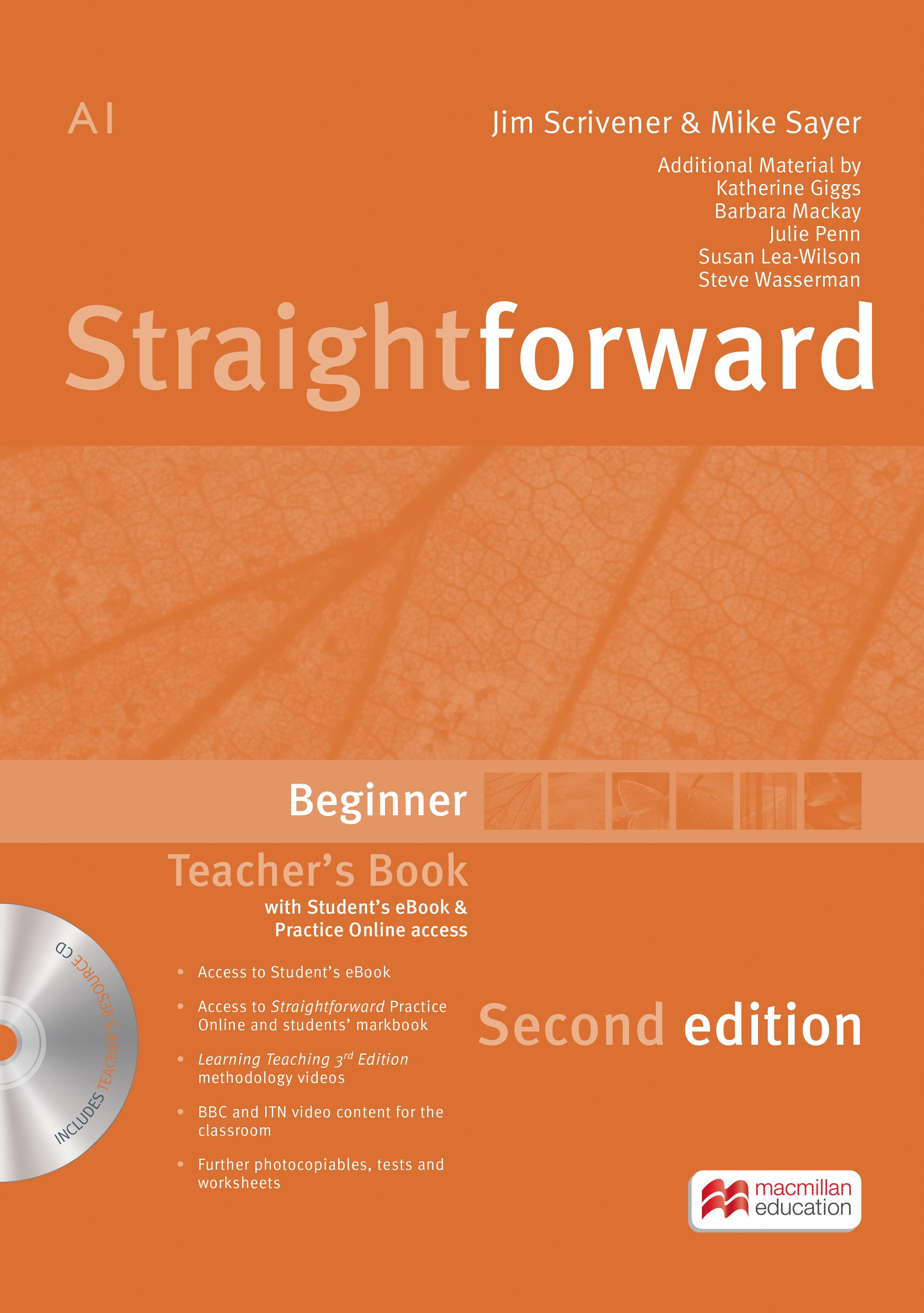 Straightforward 2nd Edition Beginner + eBook Teacher