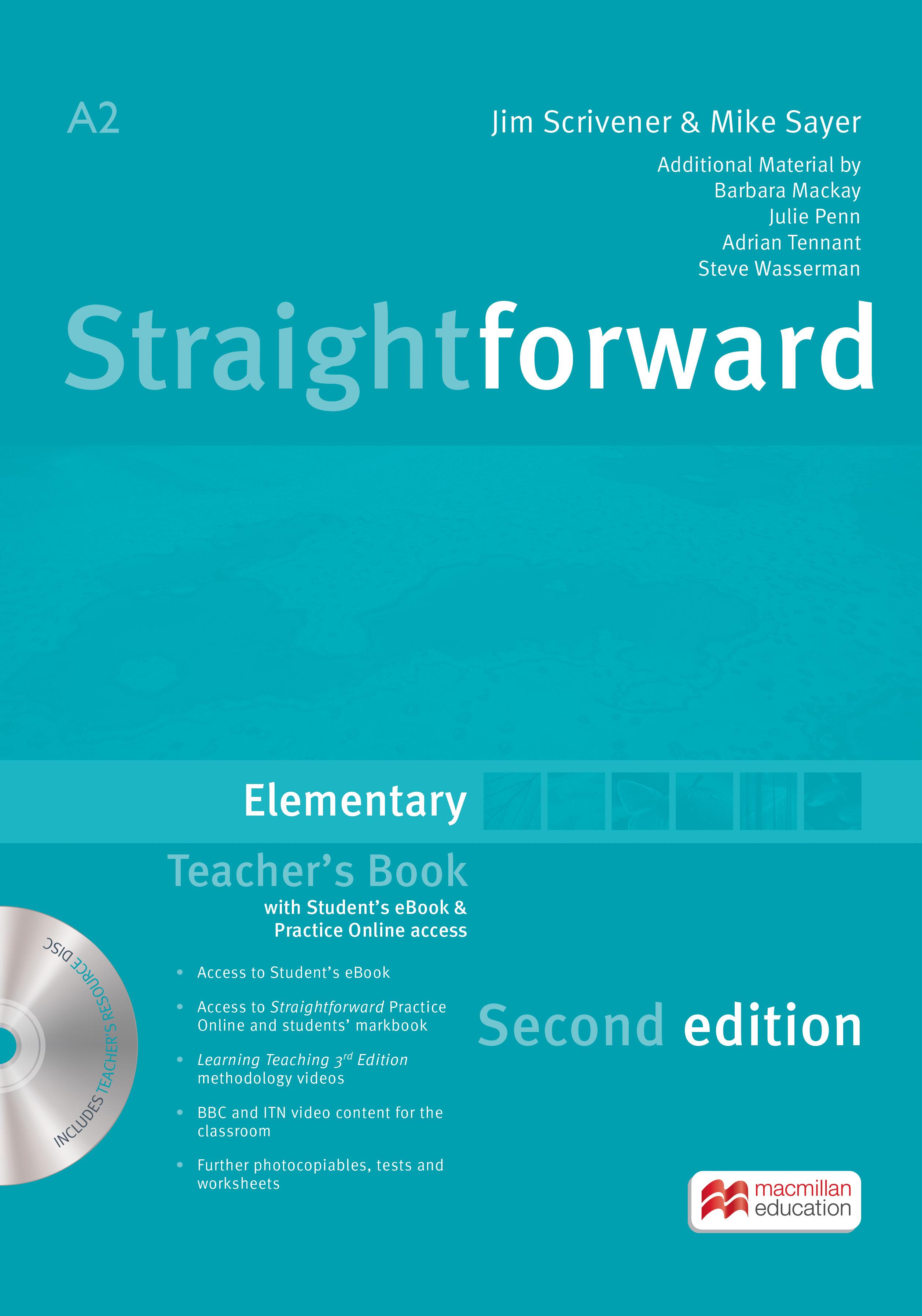 Straightforward 2nd Edition Elementary + eBook Teacher