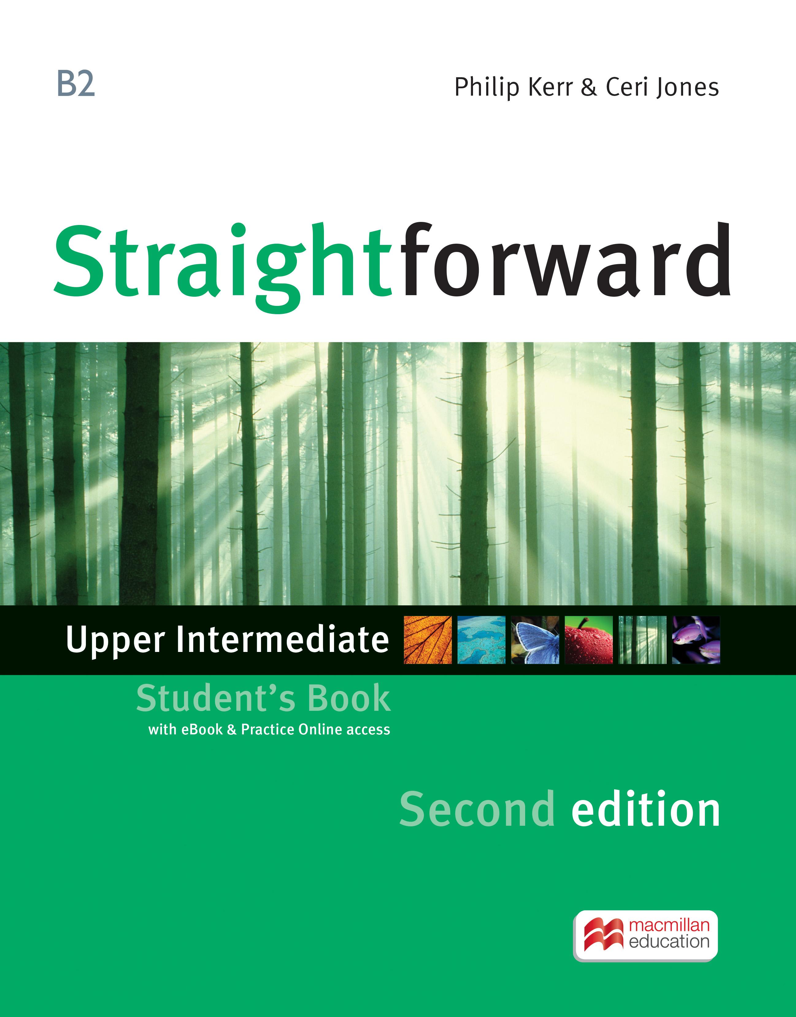 Straightforward 2nd Edition Upper Intermediate + eBook Student