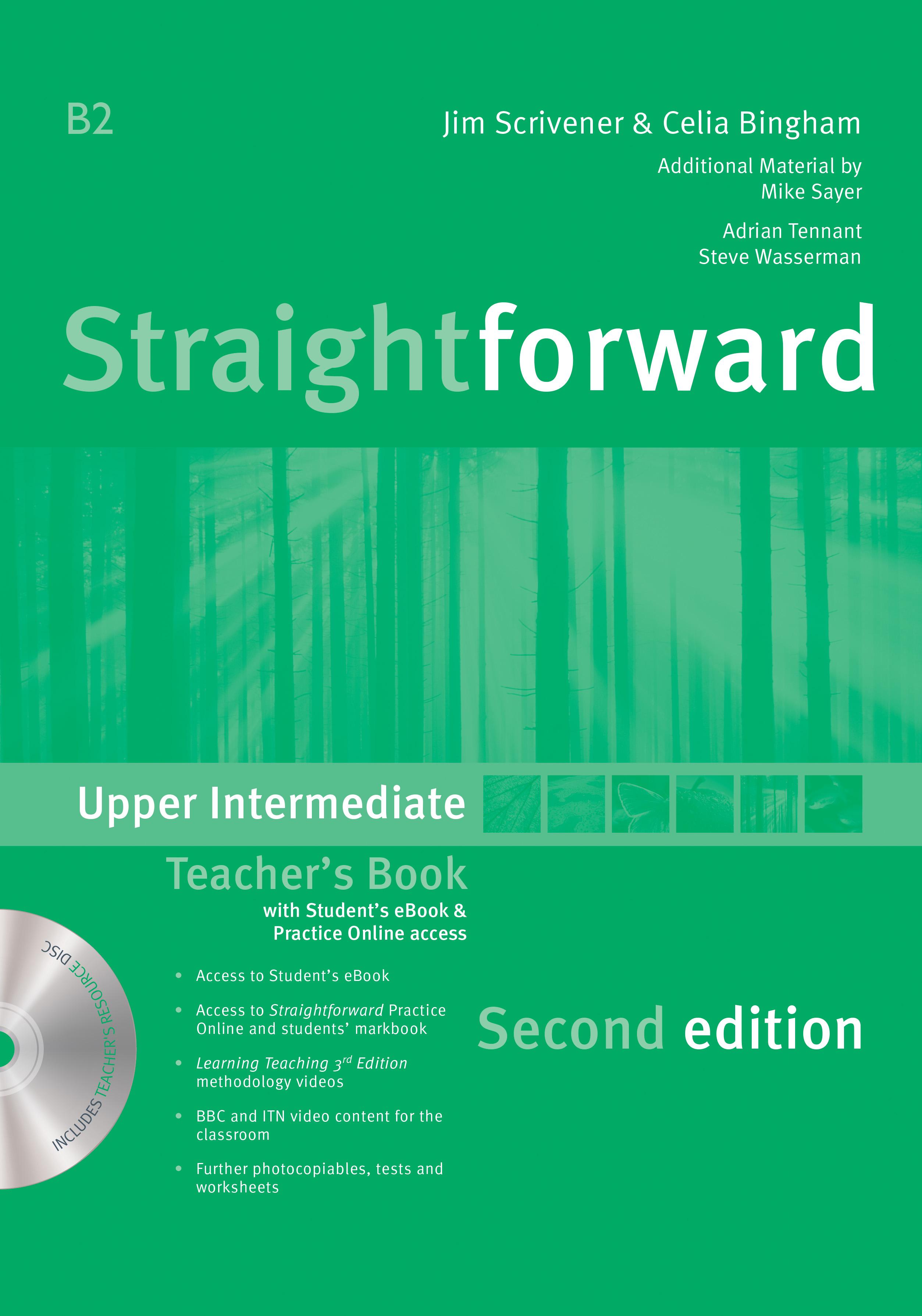 Straightforward 2nd Edition Upper Intermediate + eBook Teacher