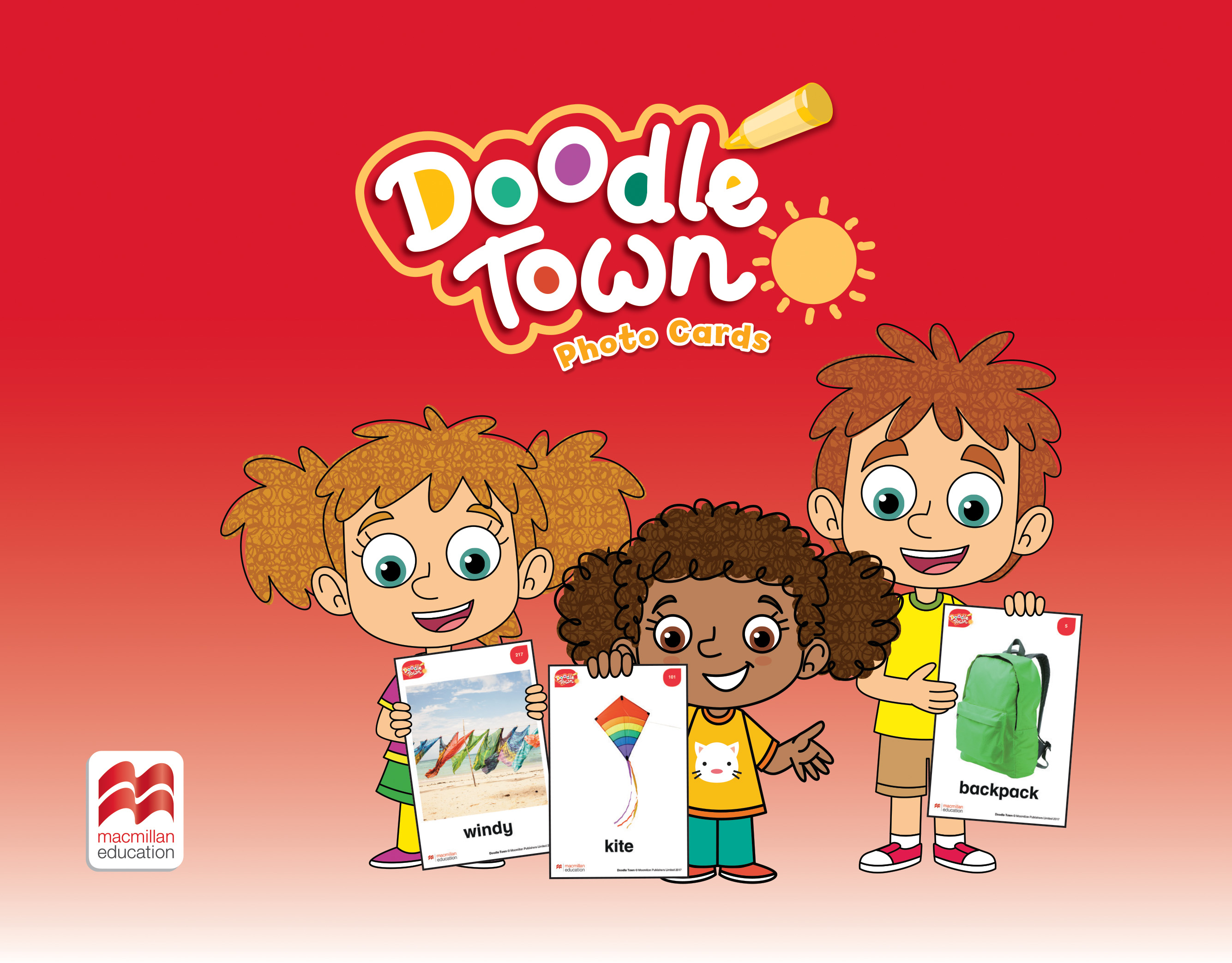Doodle Town Photo Cards