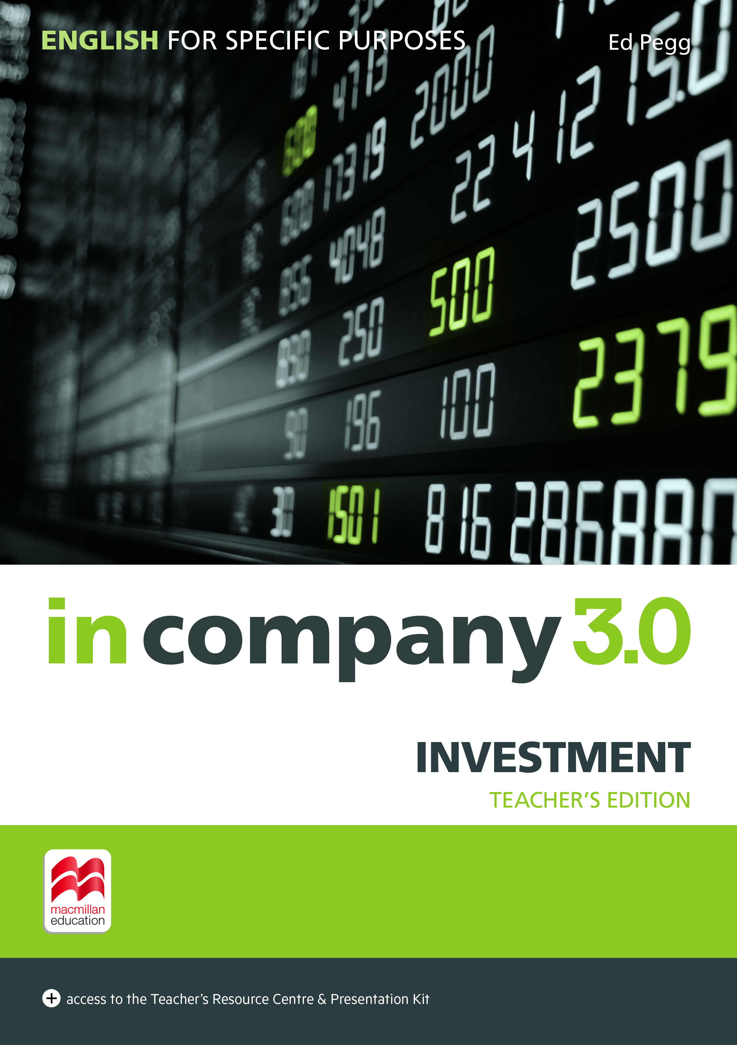 In Company 3.0 ESP Investment Teacher