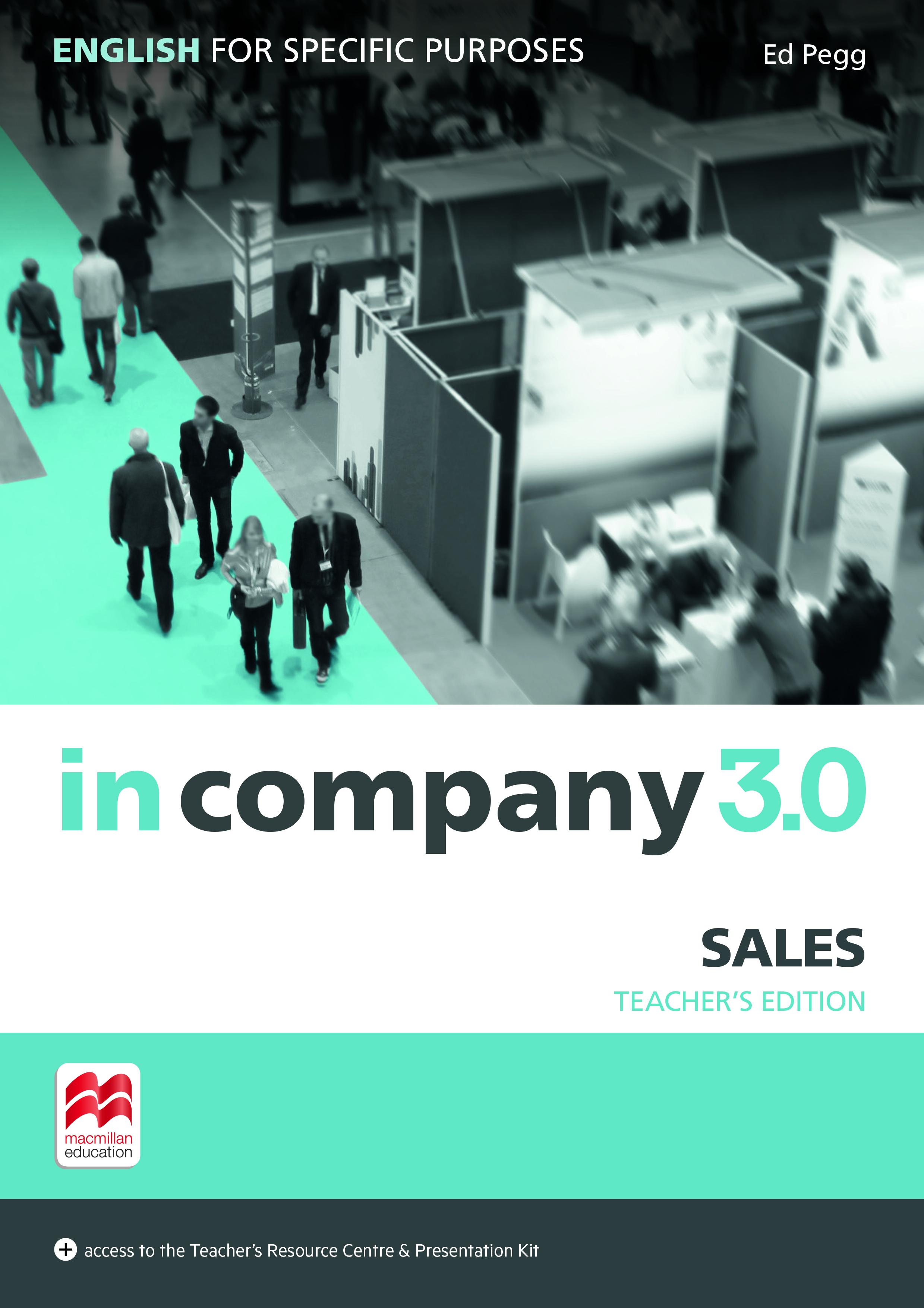 In Company 3.0 ESP Sales Teacher